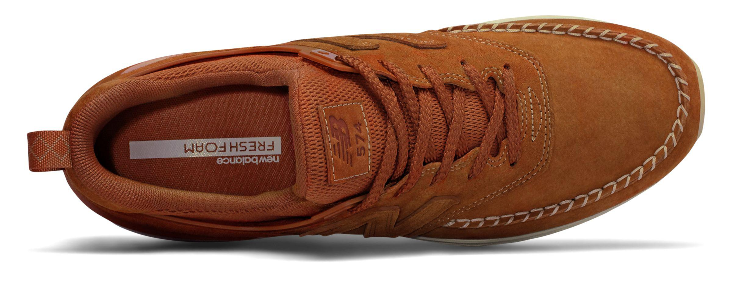 New Balance Suede 574 Sport in Brown