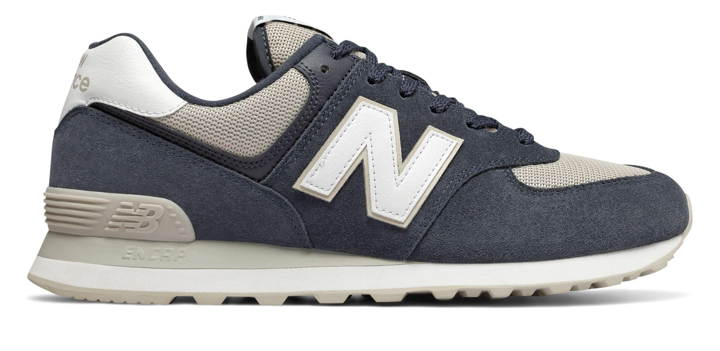 New Balance Rubber 574 in Gray for Men - Lyst