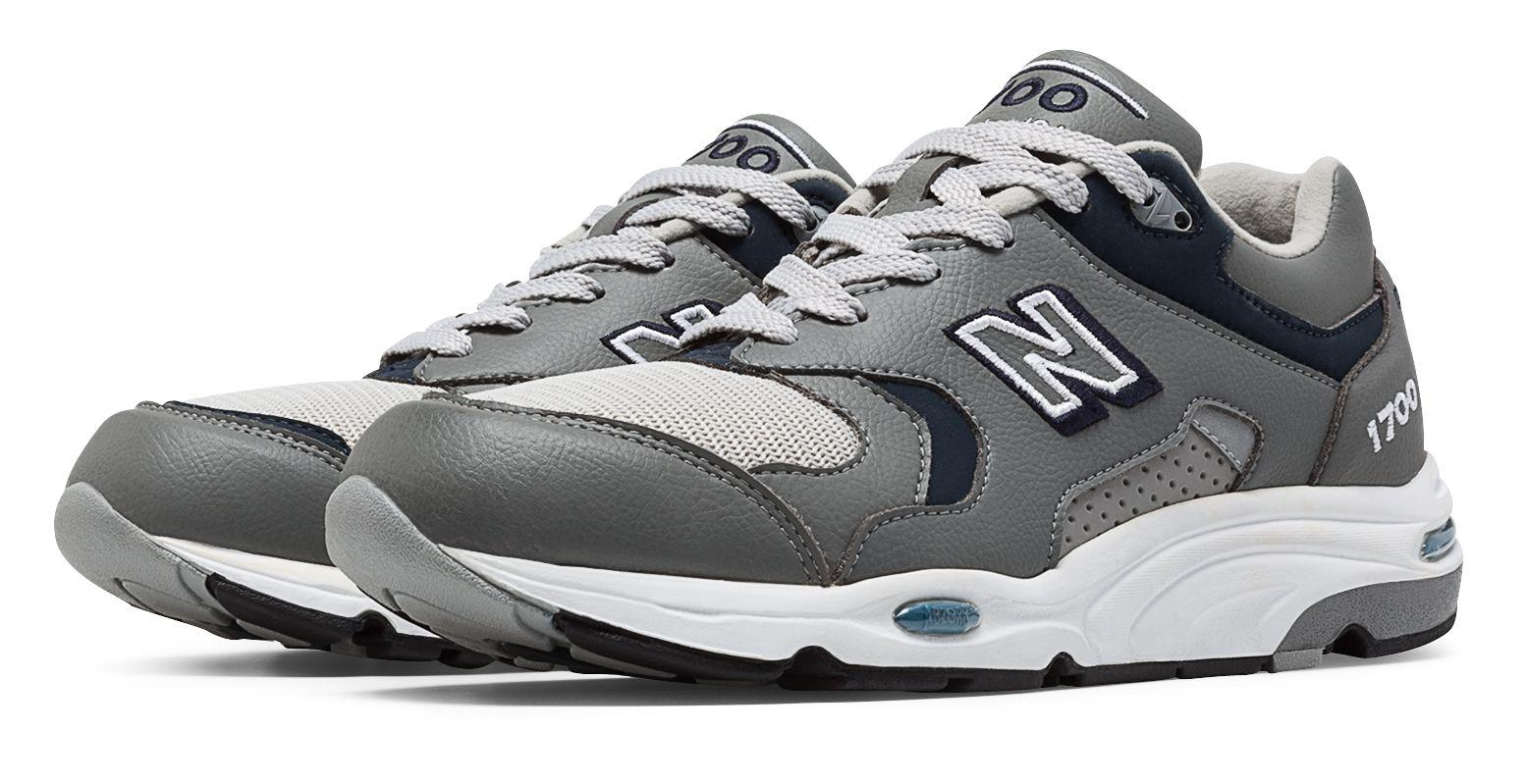 New Balance 1700 Heritage Made In Usa Shoes in Grey/Navy (Gray ...