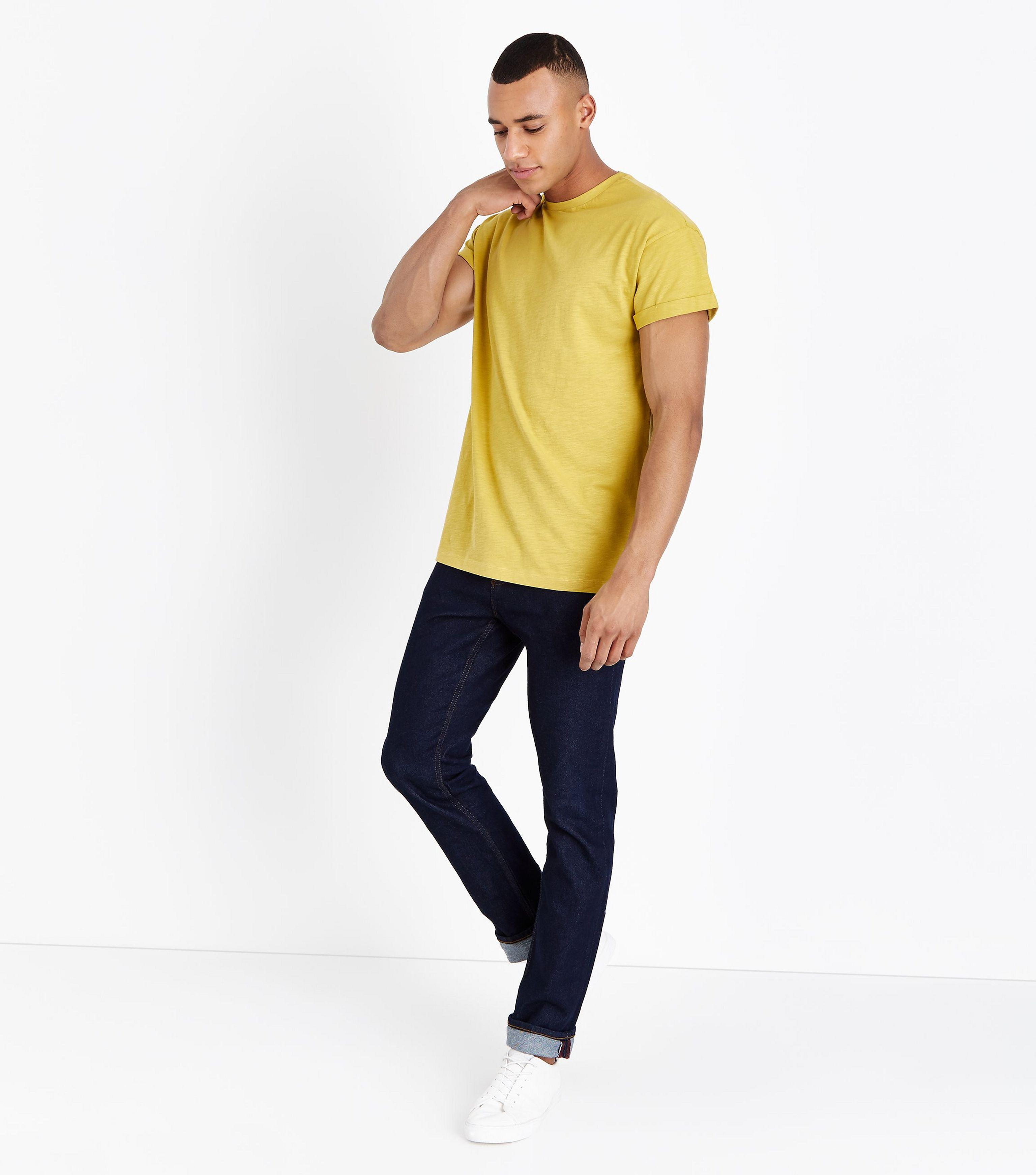 Clearance Marketable T-Shirt With MCMXCII Print In Mustard - Mid yellow New Look Geniue Stockist Online For Sale Buy Authentic Online dHqpfRJHCu