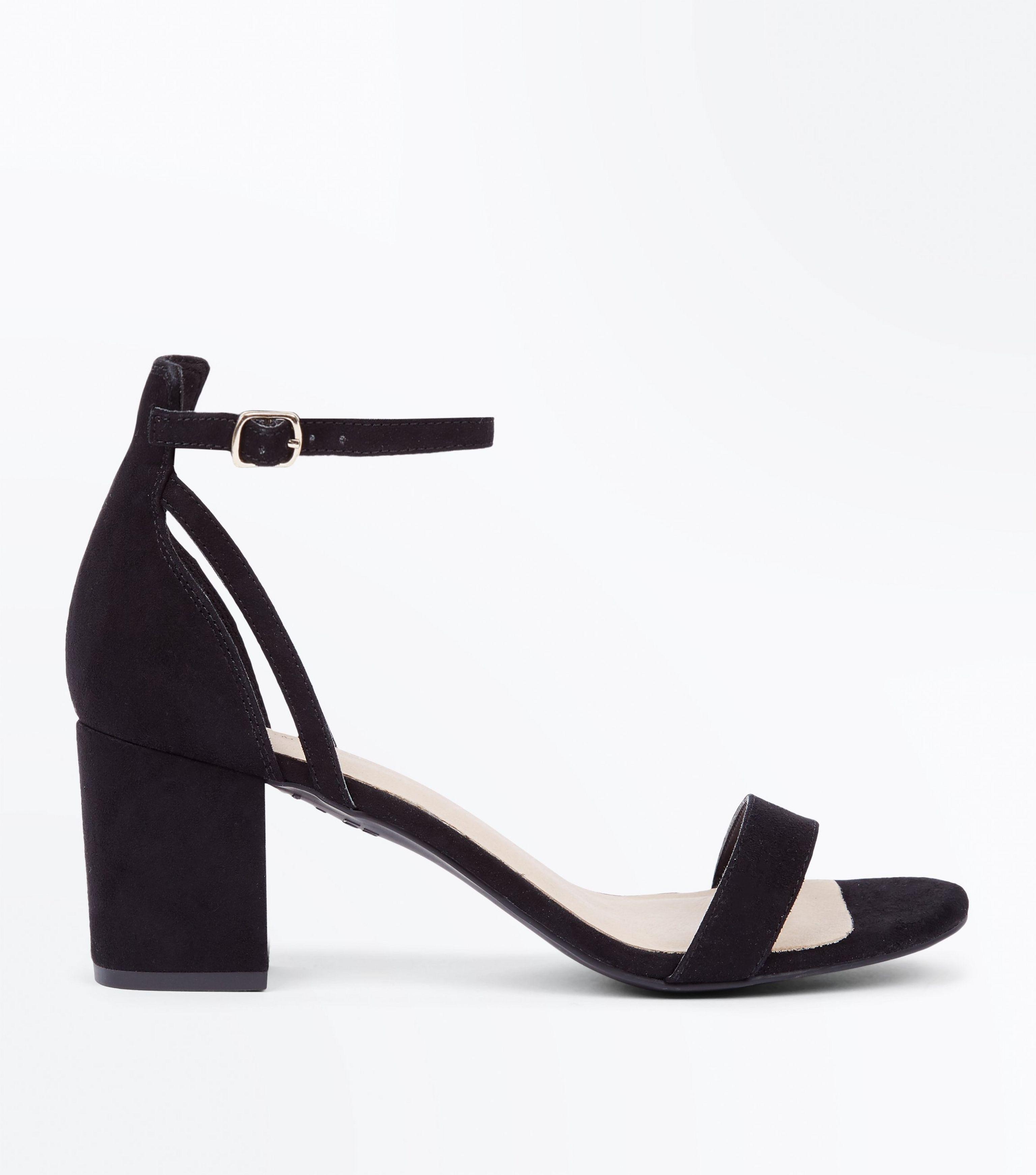 New Look Leather Black Comfort Flex