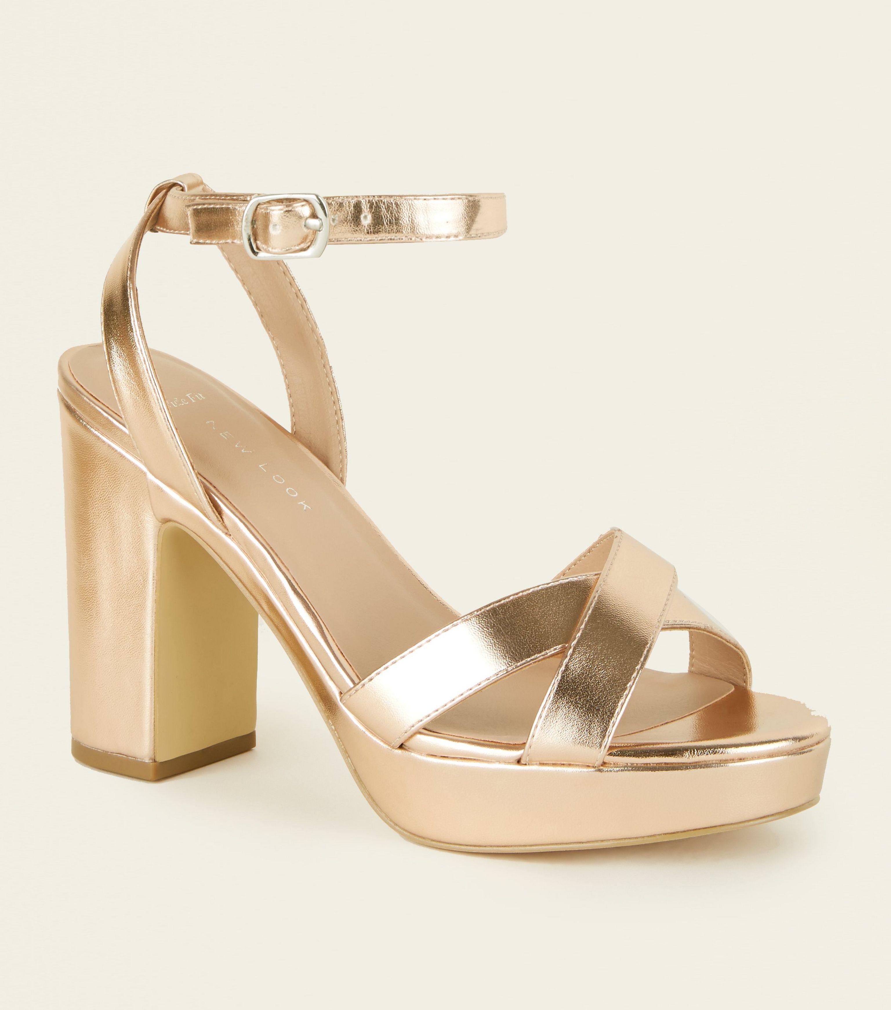 platform heels wide fit
