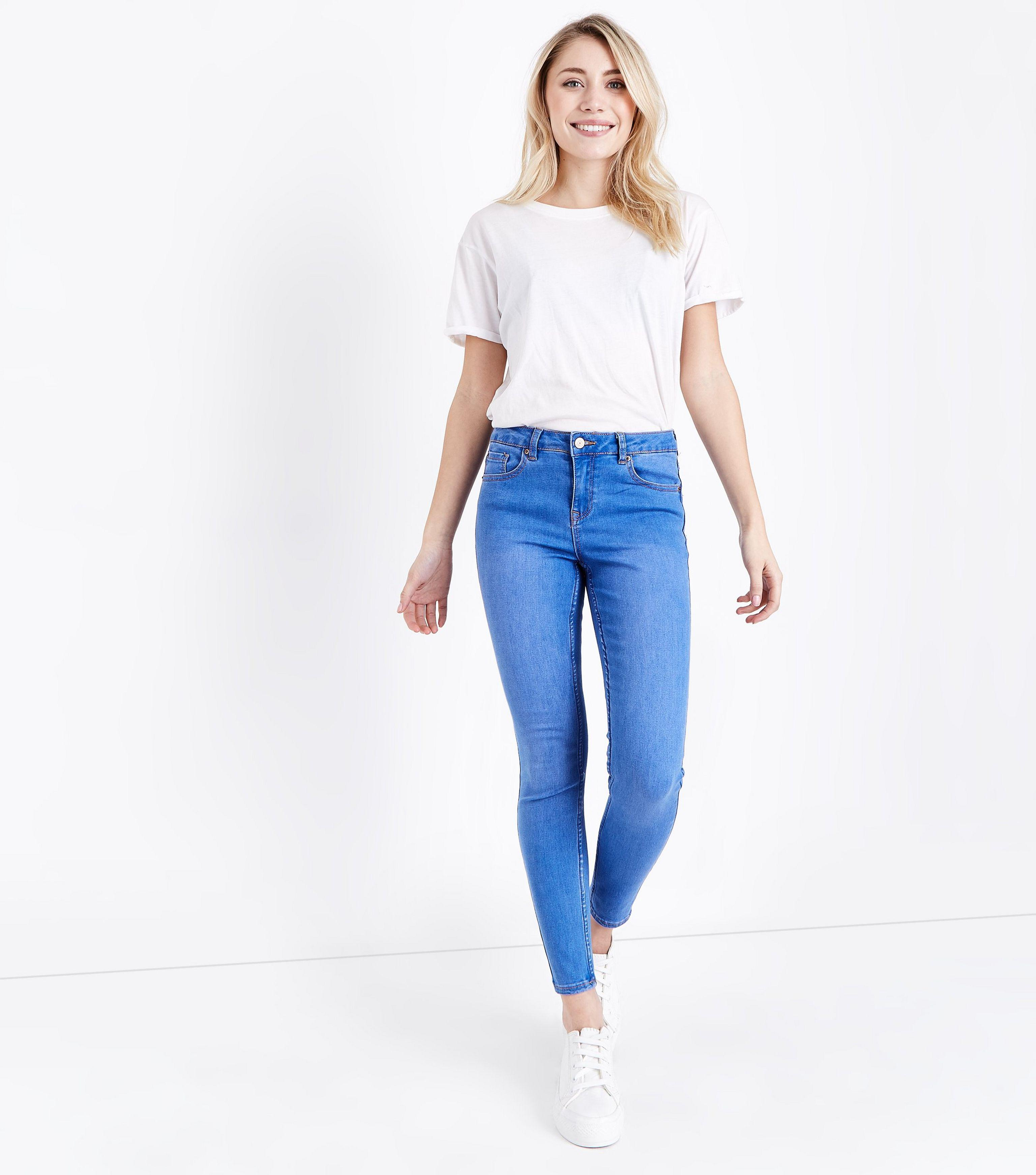 Supersoft Skinny Jeans - Light blue New Look XSHVzHg