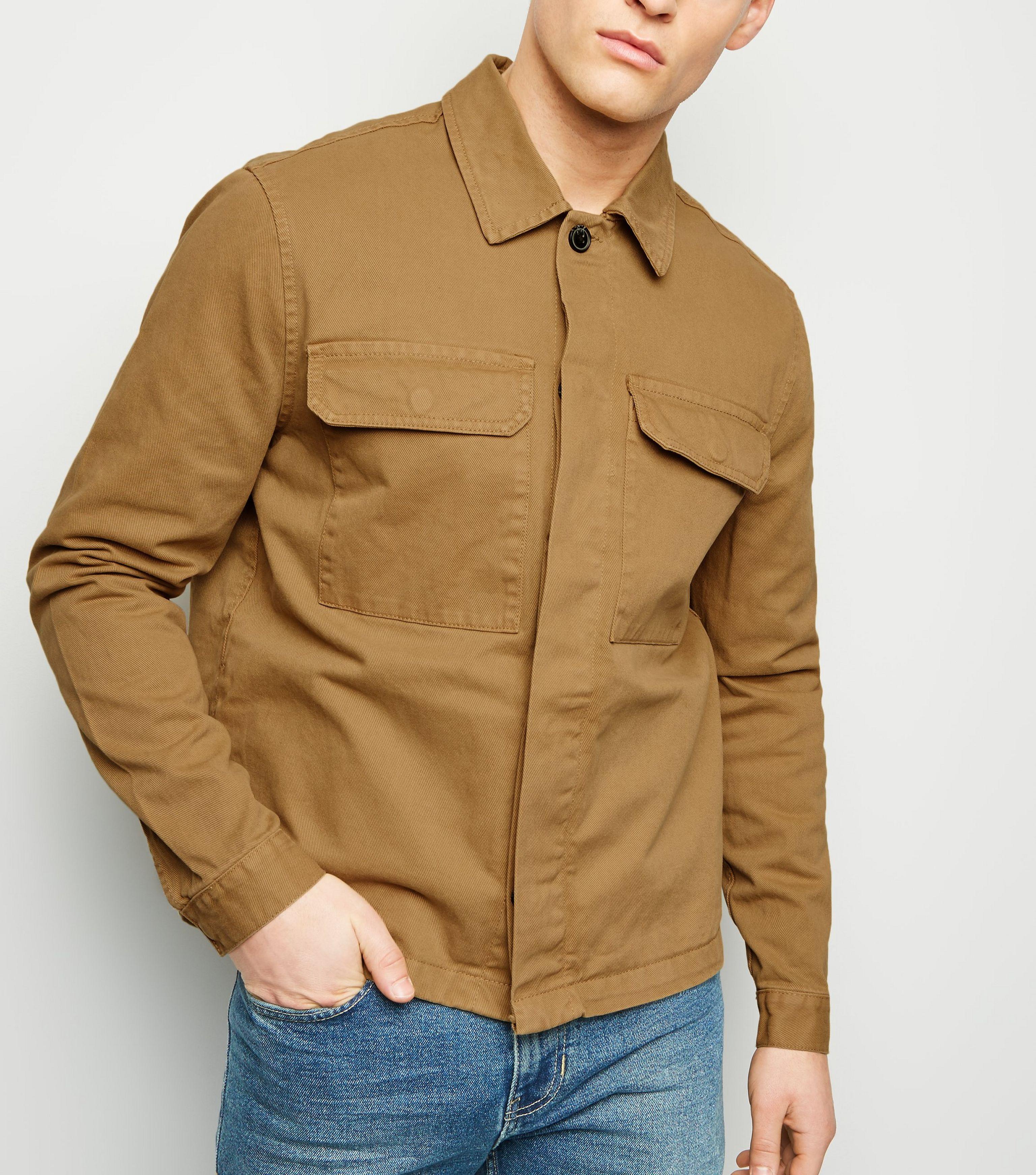 New Look Burgundy Utility Denim Jacket Fashion Clothes, Shoes ...