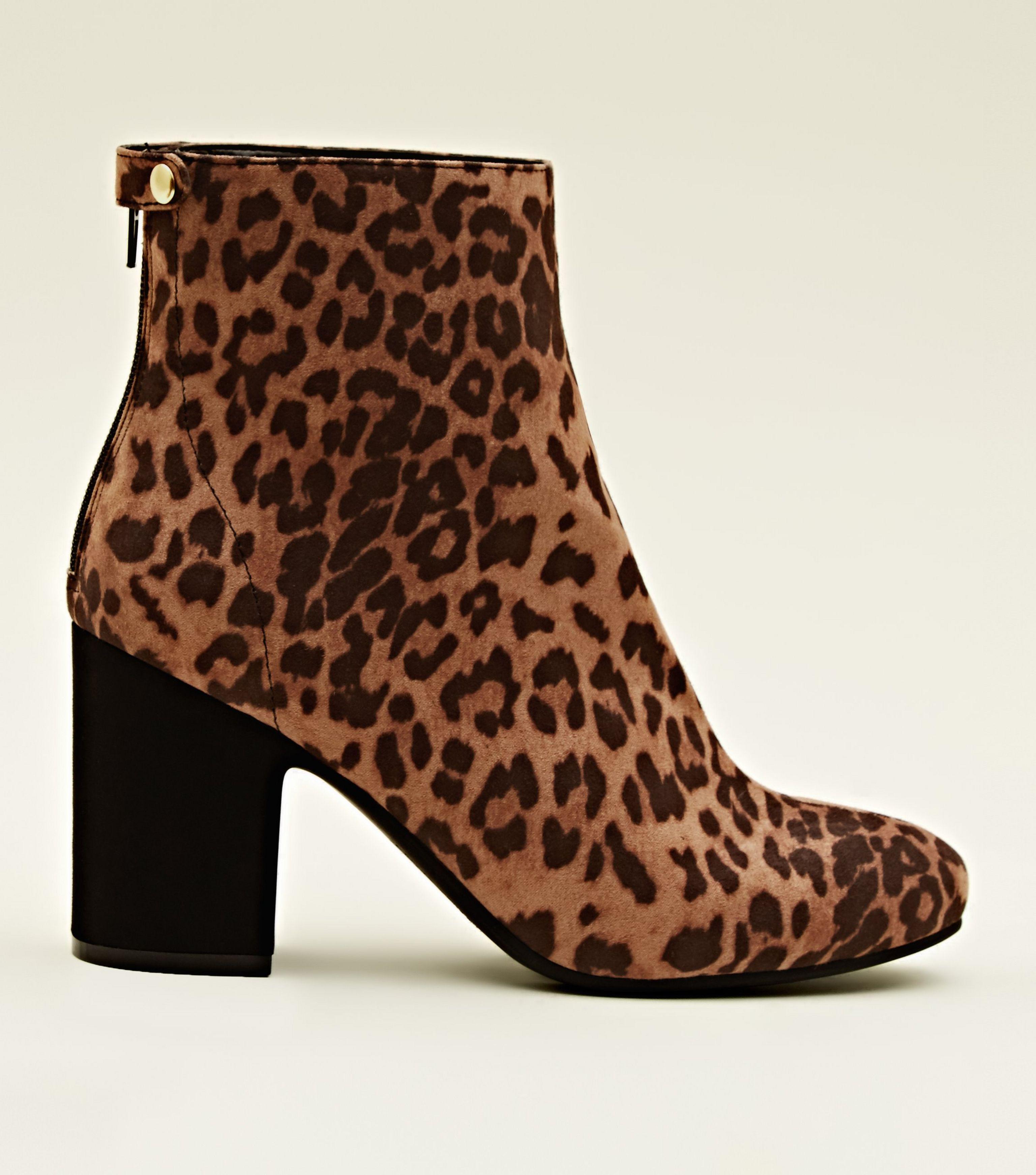 leopard print block heels ebay 3f656 961a8