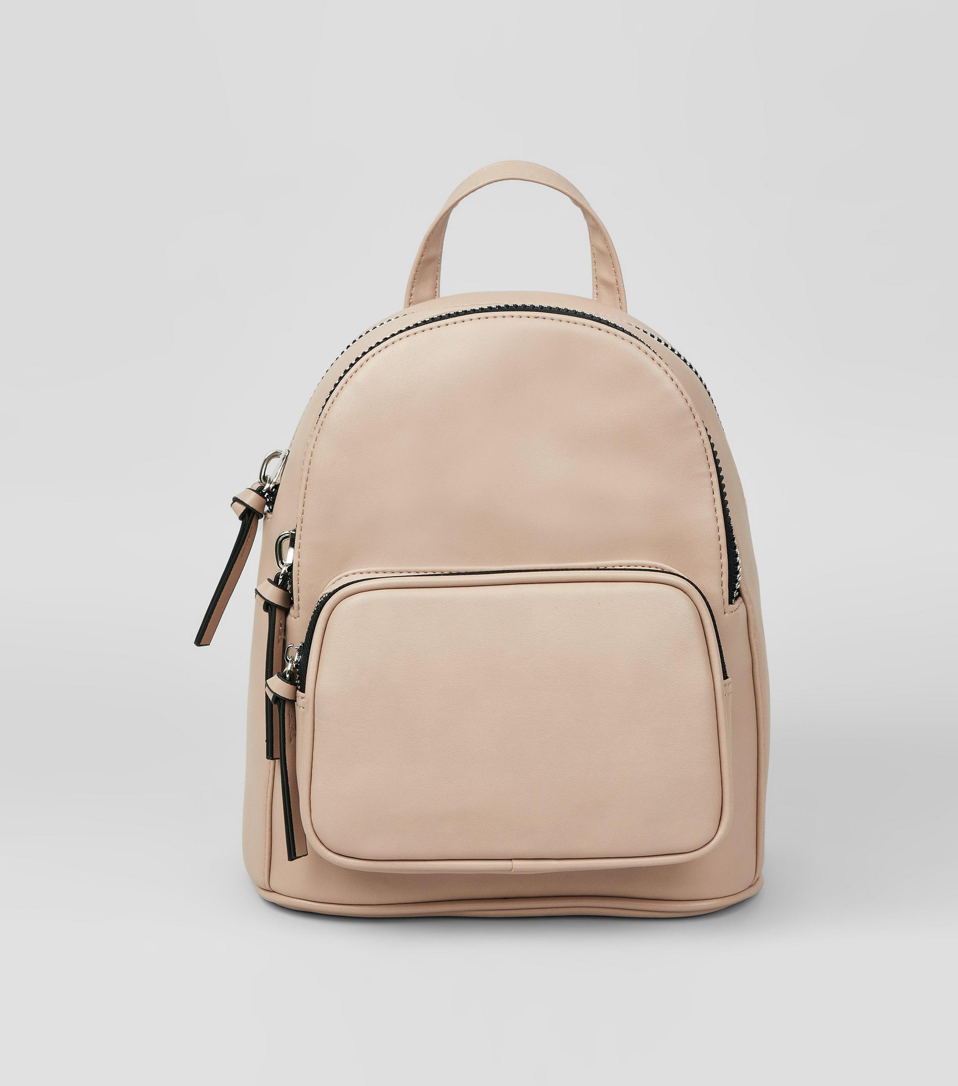official shop new & pre-owned designer complete in specifications Shell Pink Chunky Zip Mini Backpack
