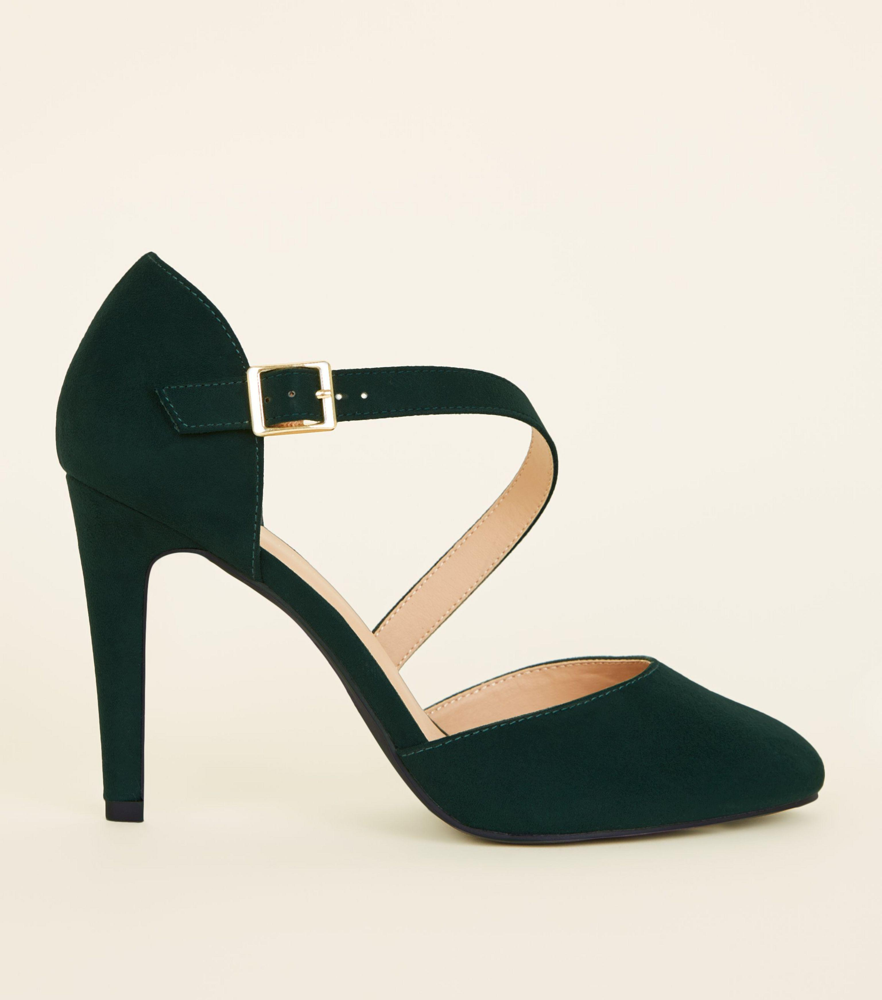 green wide fit shoes cheap online