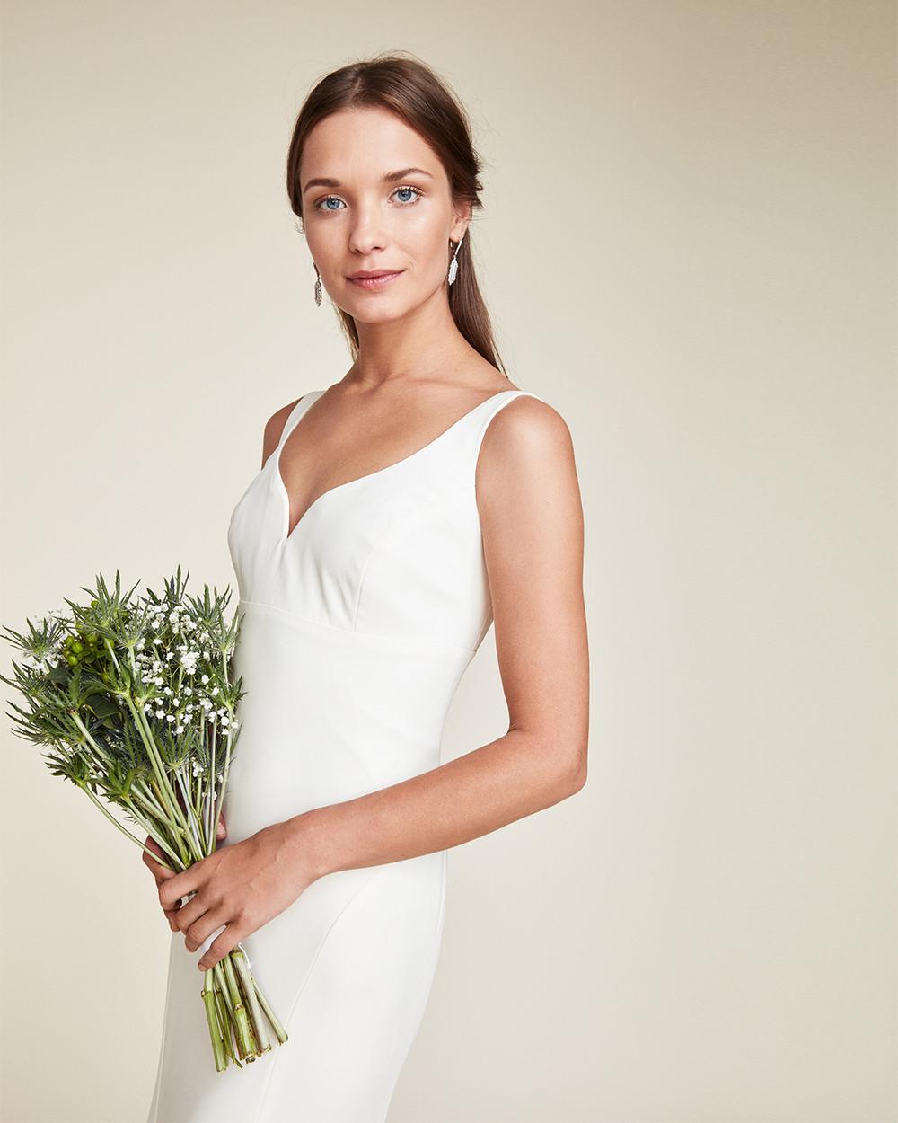 Lyst - Nicole Miller Abigail Bridal Gown in White