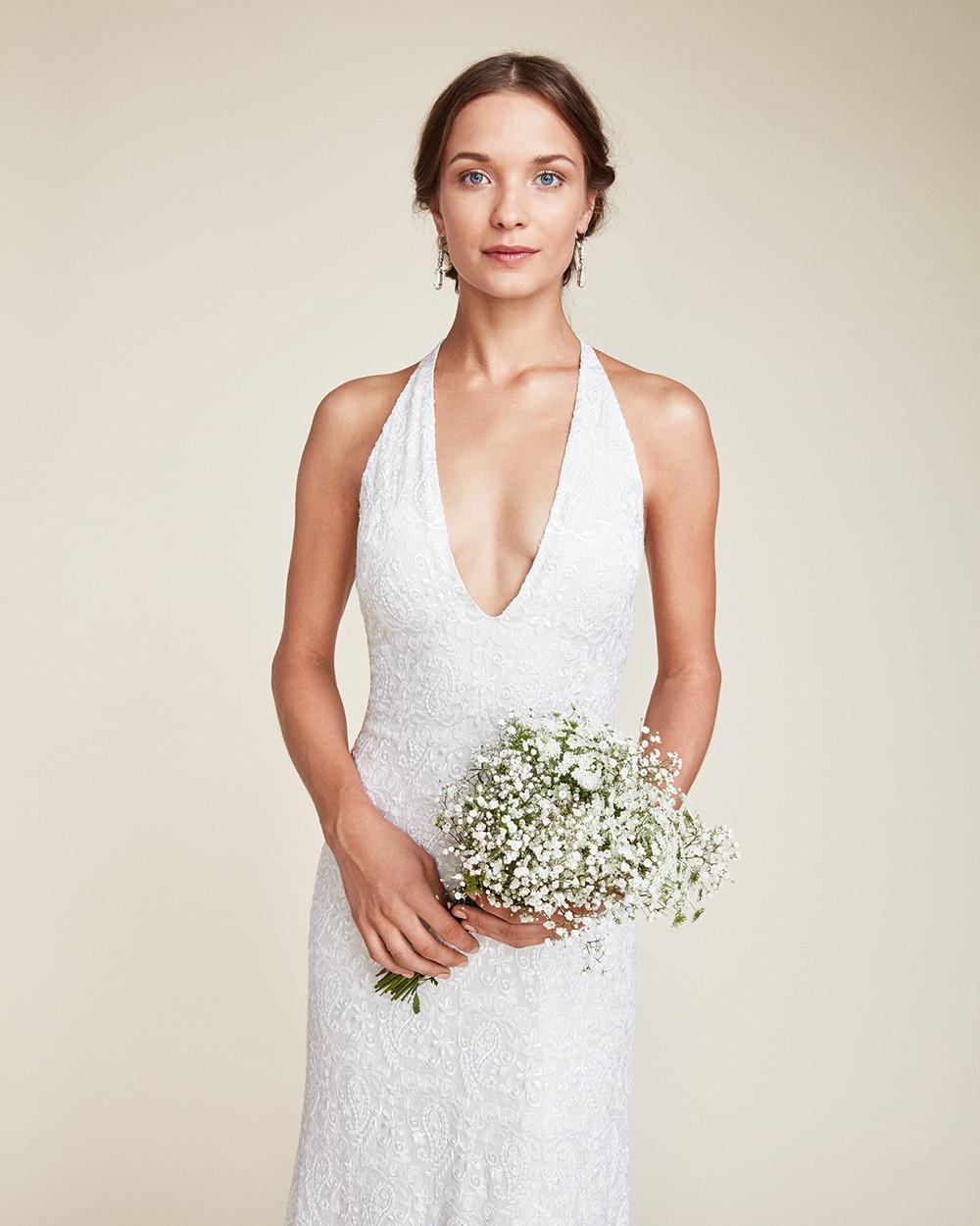 Lyst - Nicole Miller Sophia Bridal Gown in White