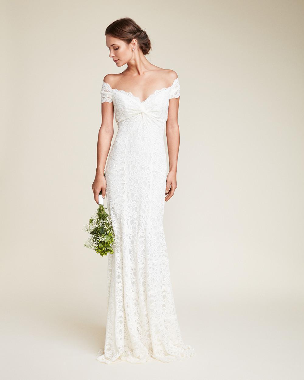 Lyst - Nicole Miller Juliet Bridal Gown in White