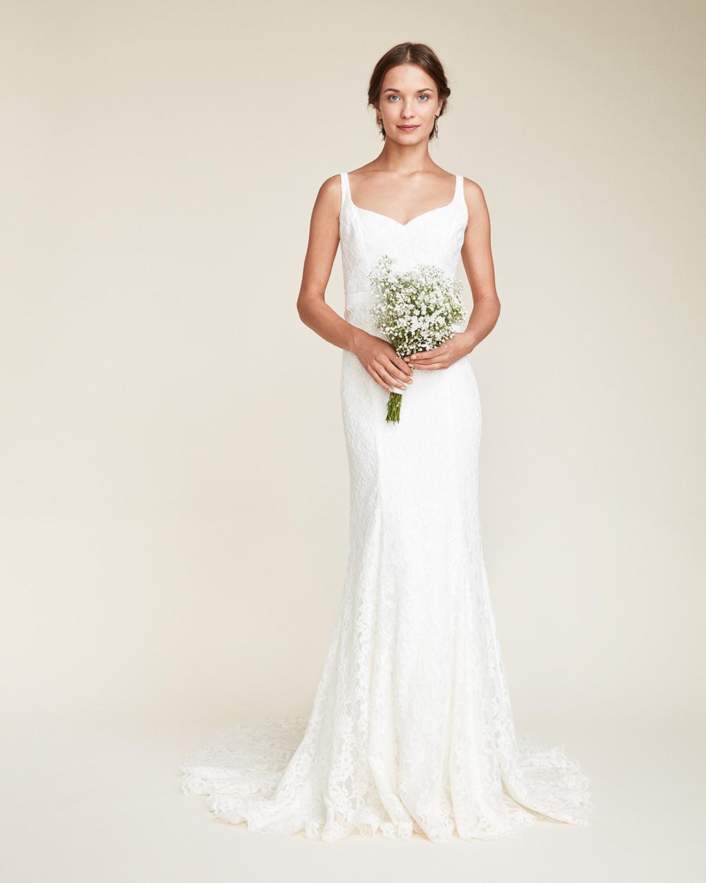 Snap Nicole miller Dakota Bridal Gown in White Lyst photos on Pinterest