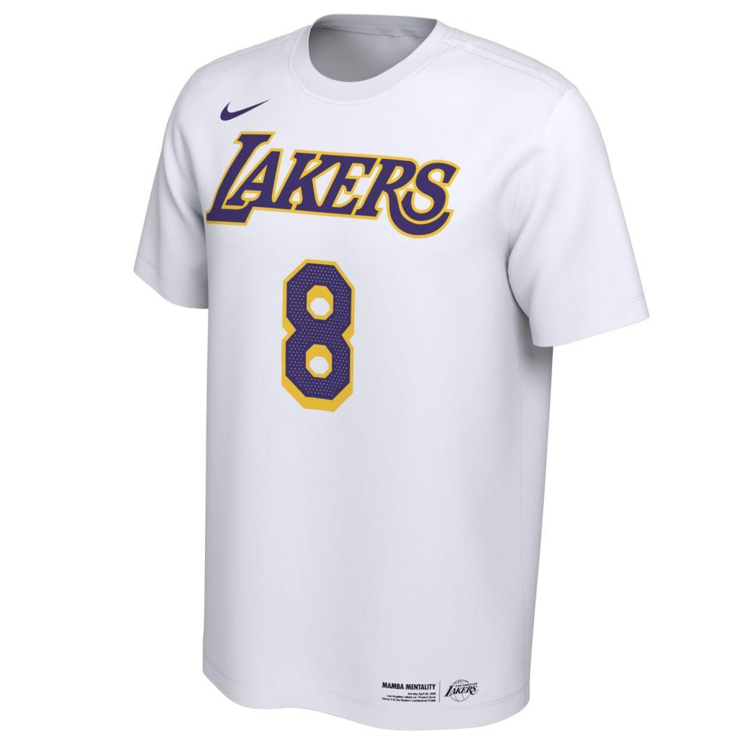 Nike Cotton Kobe Bryant Los Angeles Lakers Dri-fit Nba T-shirt in ...