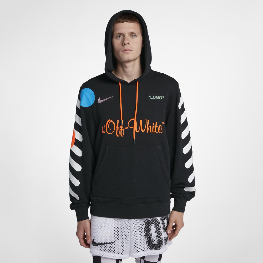 Nike Fleece X Off-white Men's Hoodie in
