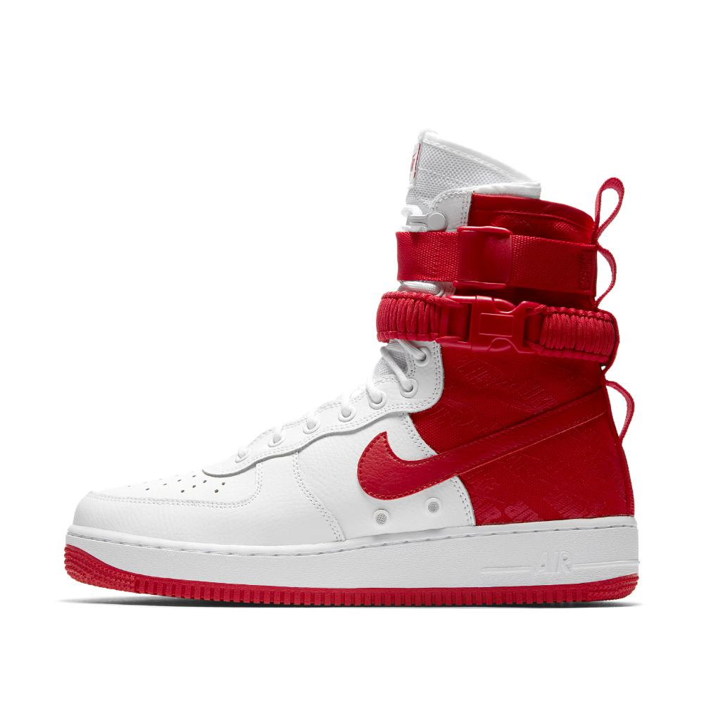 d7573a808158 Lyst - Nike Sf Air Force 1 Hi Men s Boot in Red for Men - Save 28%