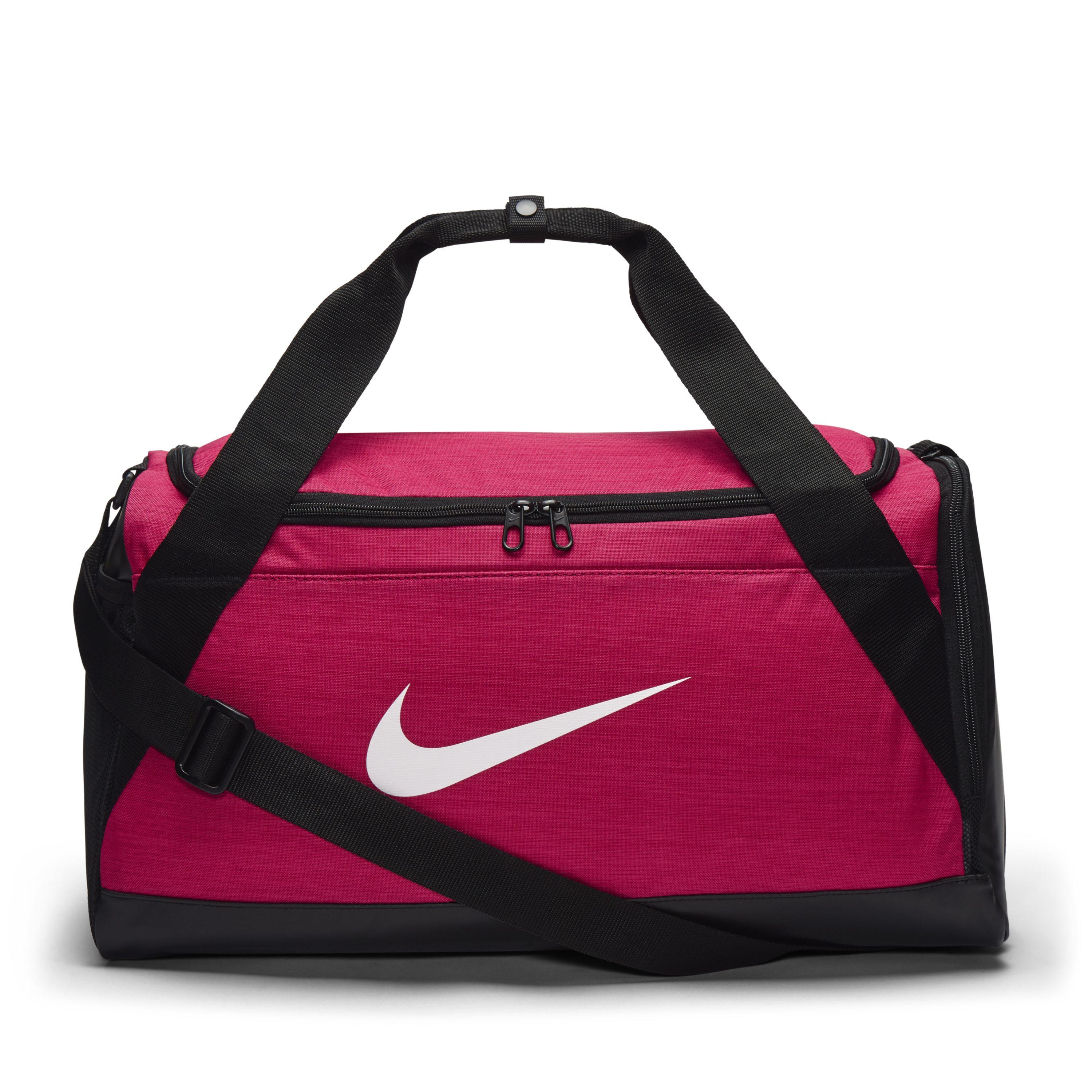 13a826d8545 Nike Brasilia (small) Training Duffel Bag in Pink - Save 28% - Lyst