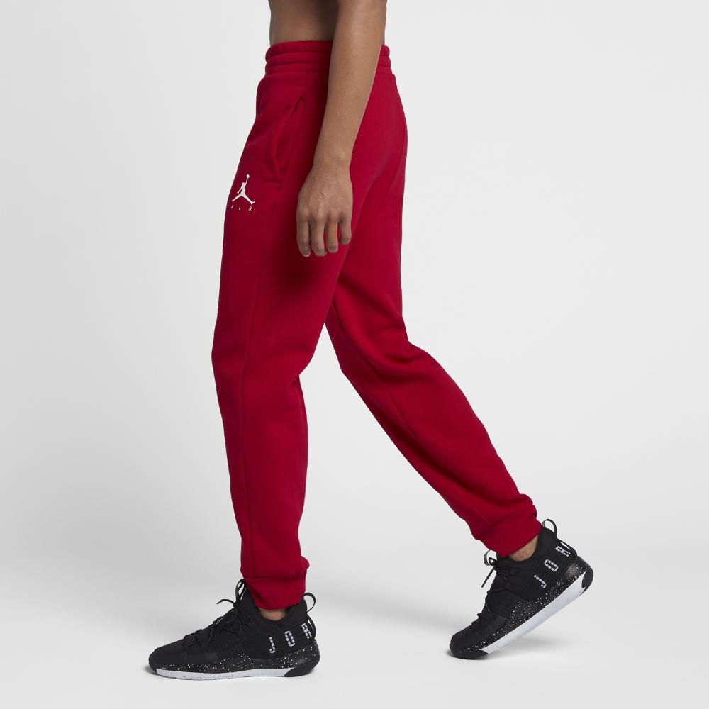 5bb2bf5a218 Nike Jumpman Air Men's Fleece Pants, By Nike in Red for Men - Lyst