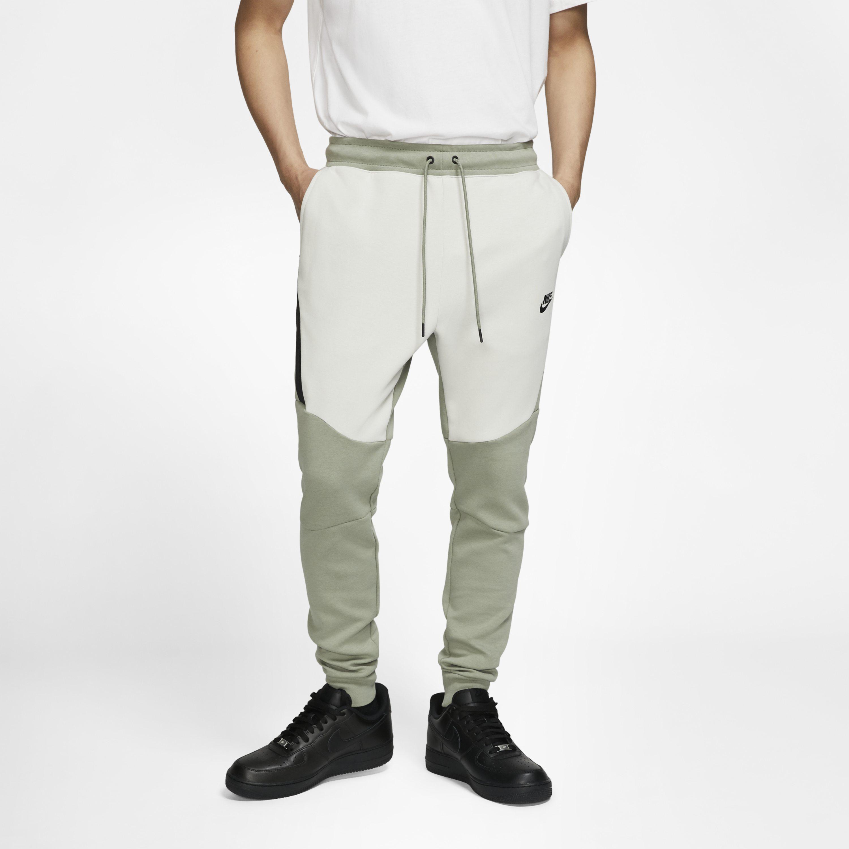 Nike Sportswear Tech Fleece Joggers In Olive Green For Men Lyst