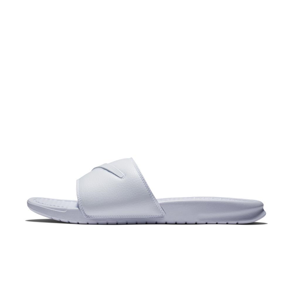 7a13dd76ab1474 Lyst - Nike Benassi Jdi Ltd Men s Slide Sandal in White for Men