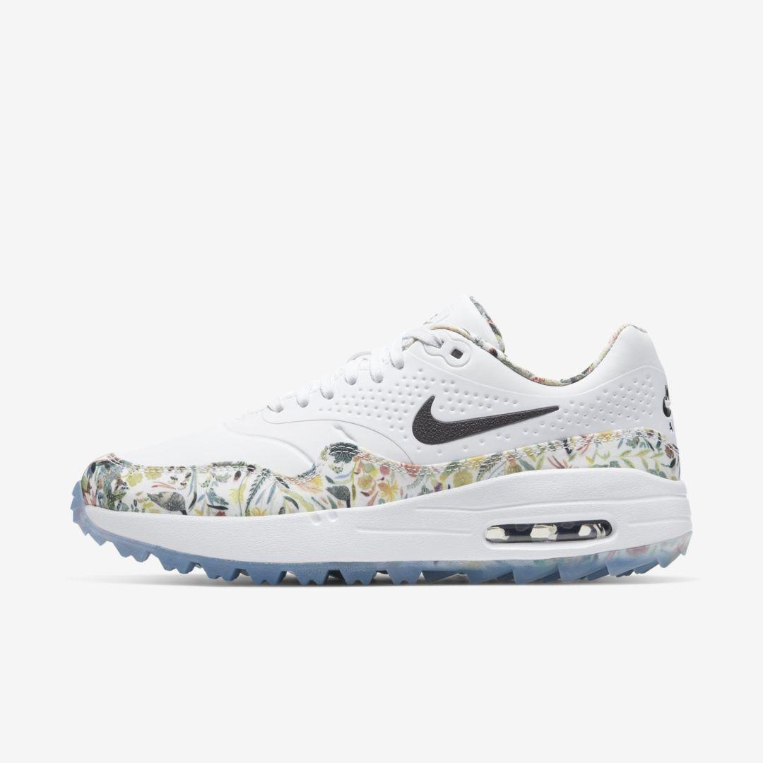 Nike Leather Air Max 1 G Nrg Golf Shoe In White Lyst
