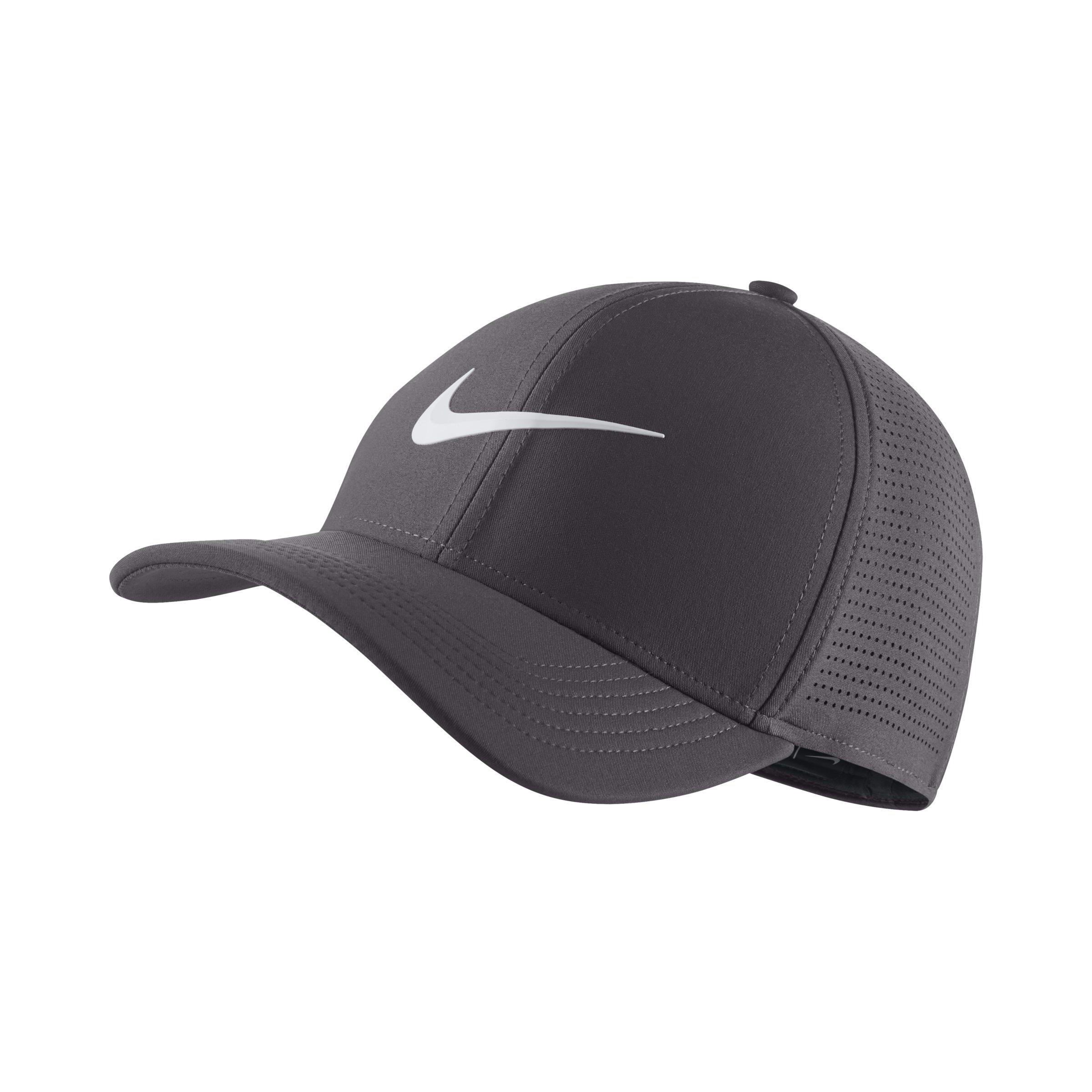 17418a82329 Nike Aerobill Classic 99 Fitted Golf Hat in Gray - Lyst
