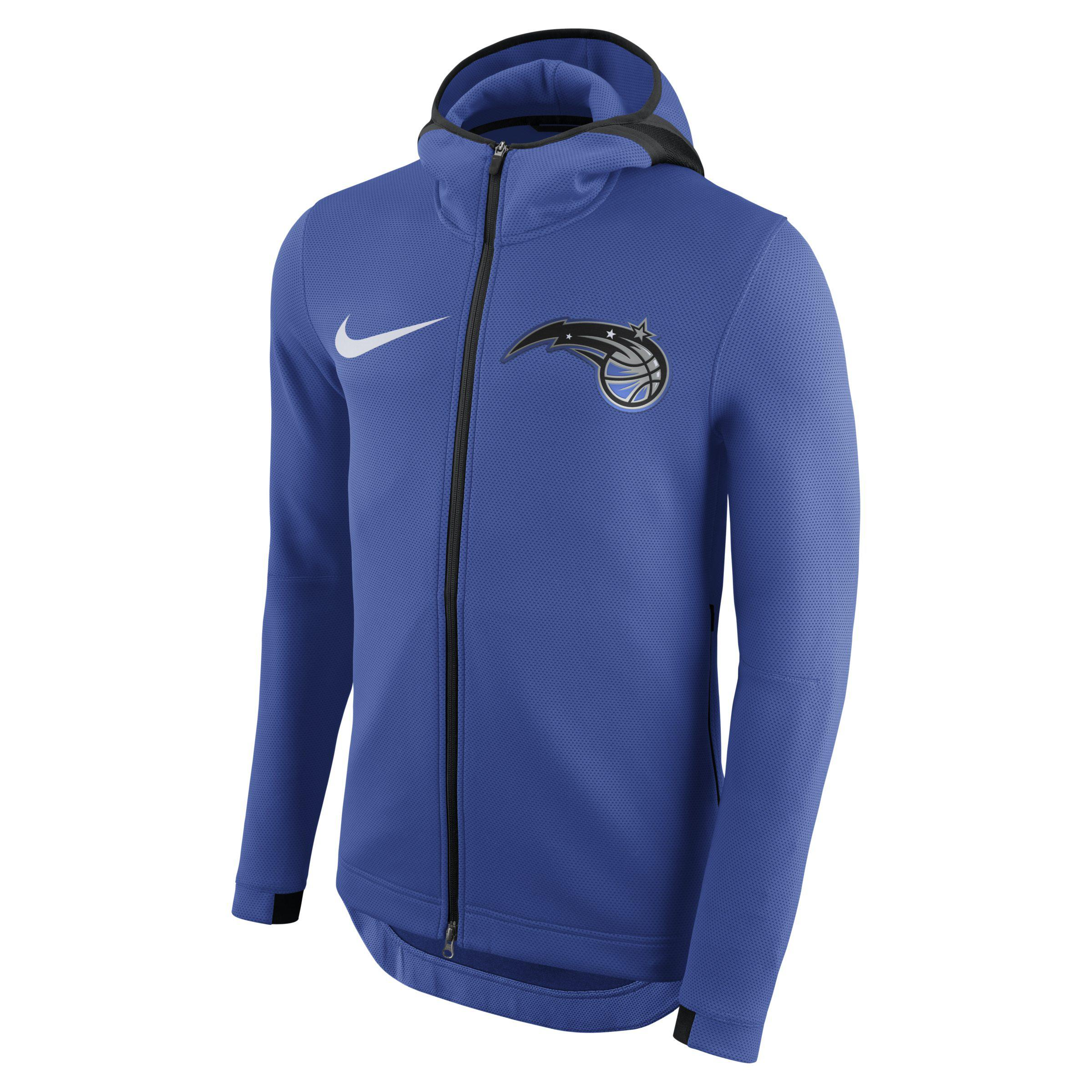 0c91b192b Nike Orlando Magic Therma Flex Showtime Nba Hoodie in Blue for Men ...