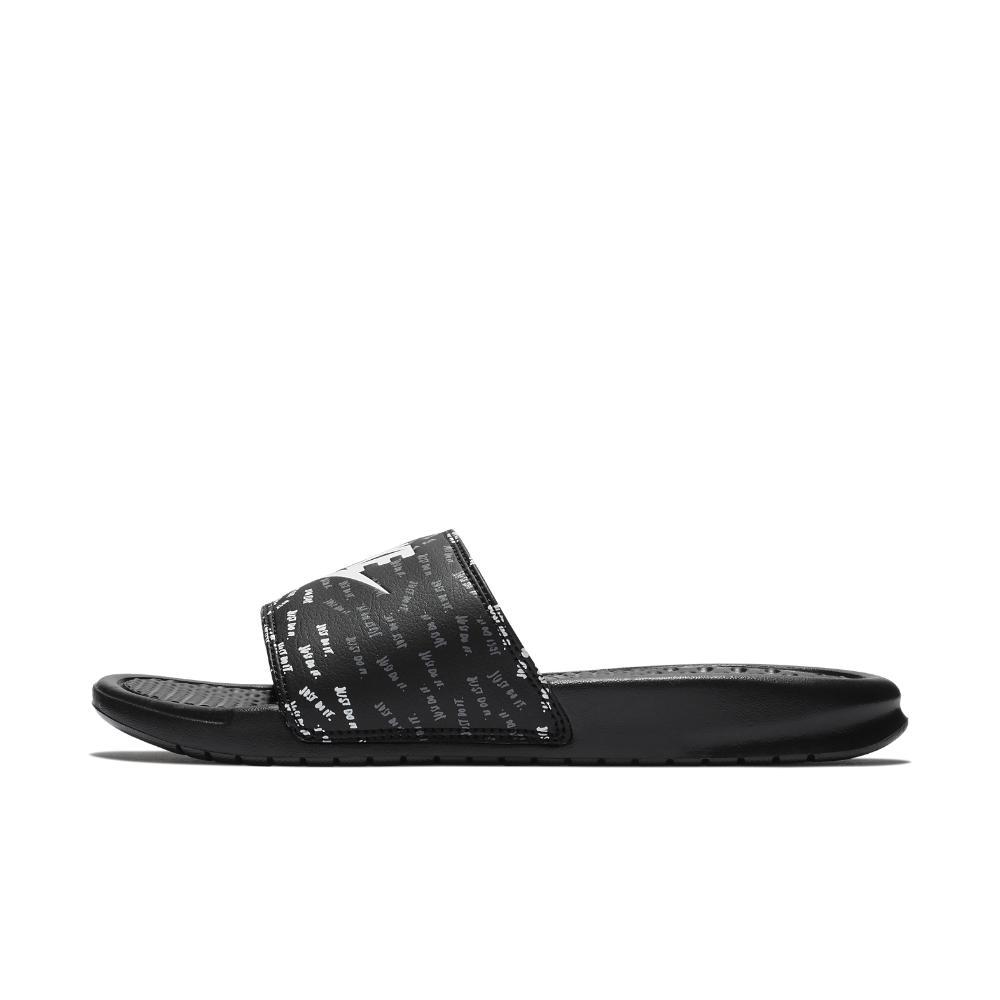 85fe71f9305929 ... canada nike. black benassi jdi print womens slide sandal 0eacf 9493b