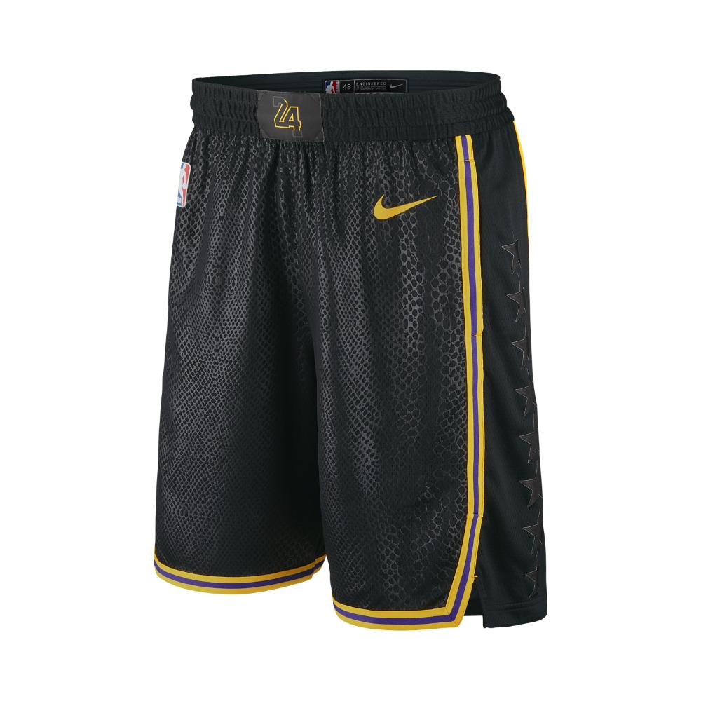 Lyst - Nike Los Angeles Lakers City Edition Swingman Men s Nba ... 2b2b16e897e0