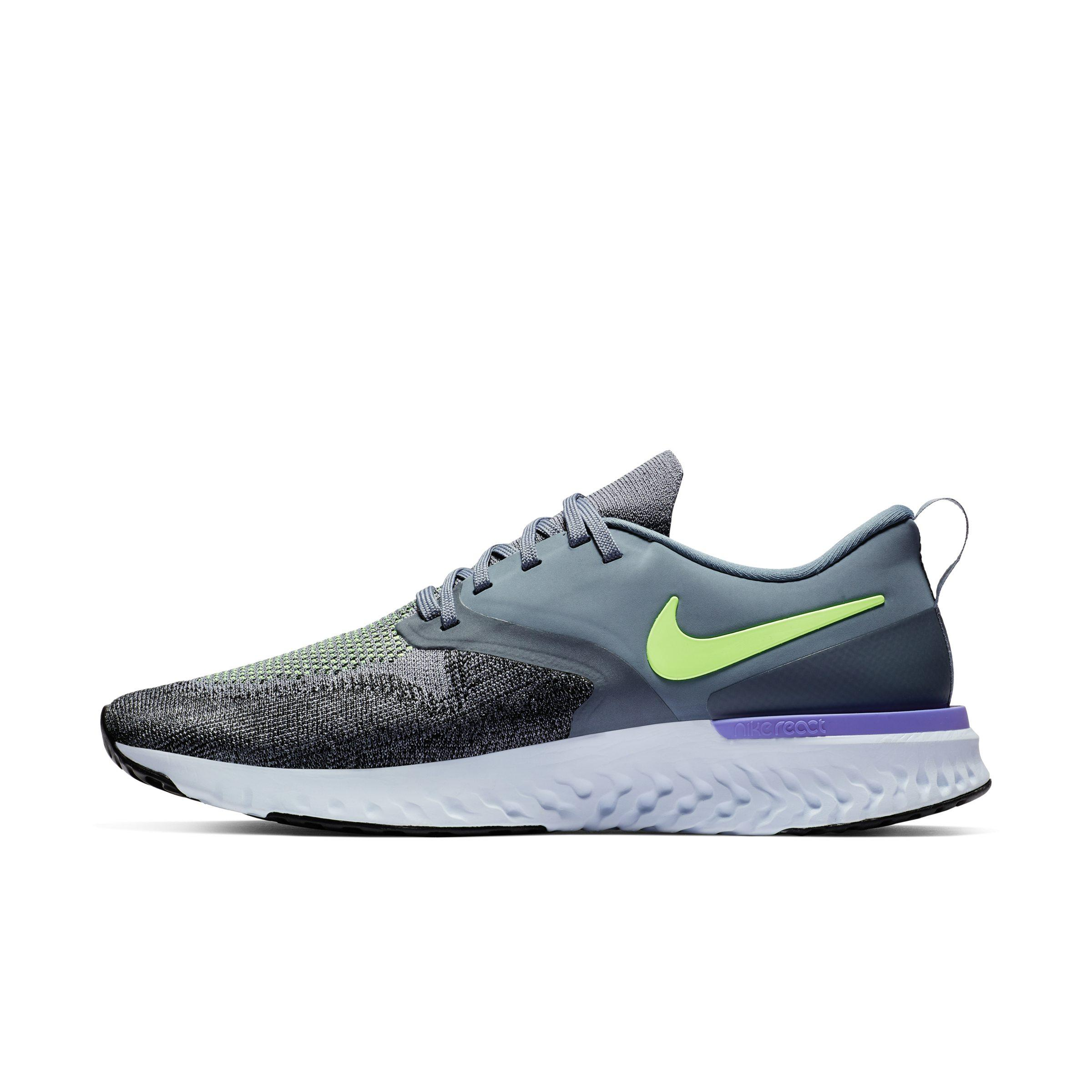 a7a277ce590d Nike Odyssey React Flyknit 2 Running Shoe in Blue for Men - Lyst