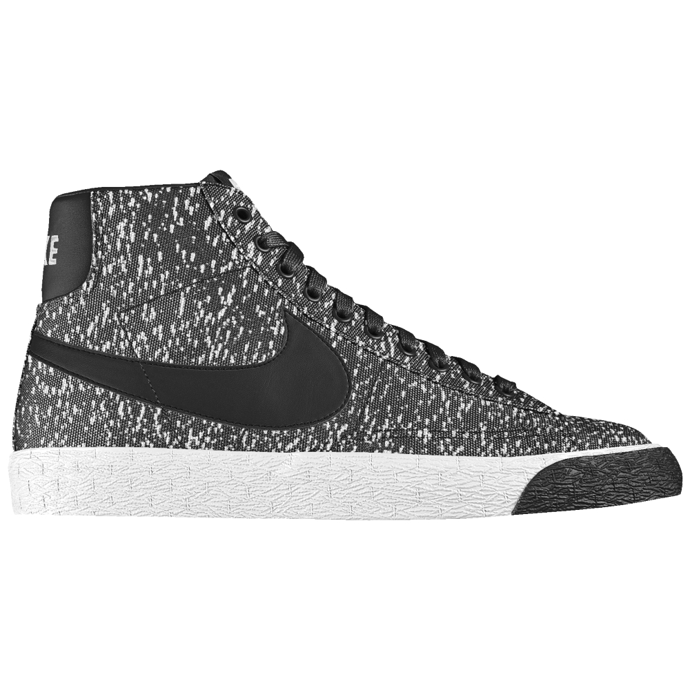 Nike Gray Blazer Mid Id Men's Shoe for men