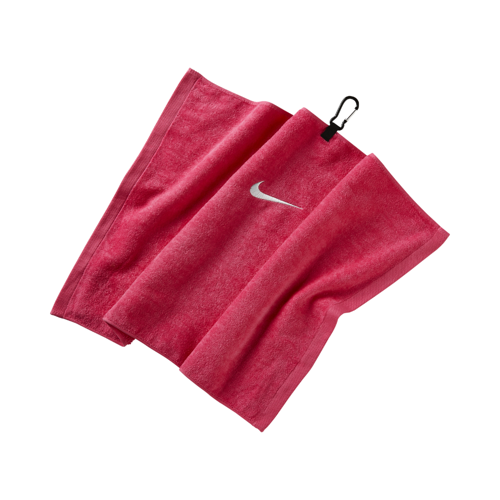 Nike Embroidered Golf Towel (red) In Red For Men