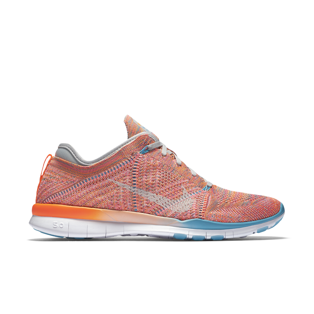 97d616e1d8e Nike - Multicolor Free Tr 5 Flyknit Women s Training Shoe - Lyst