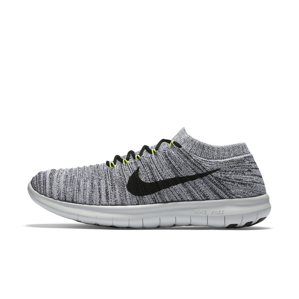 detailed look 82a2c d5505 Nike - Gray Free Rn Motion Flyknit Women's Running Shoe - Lyst