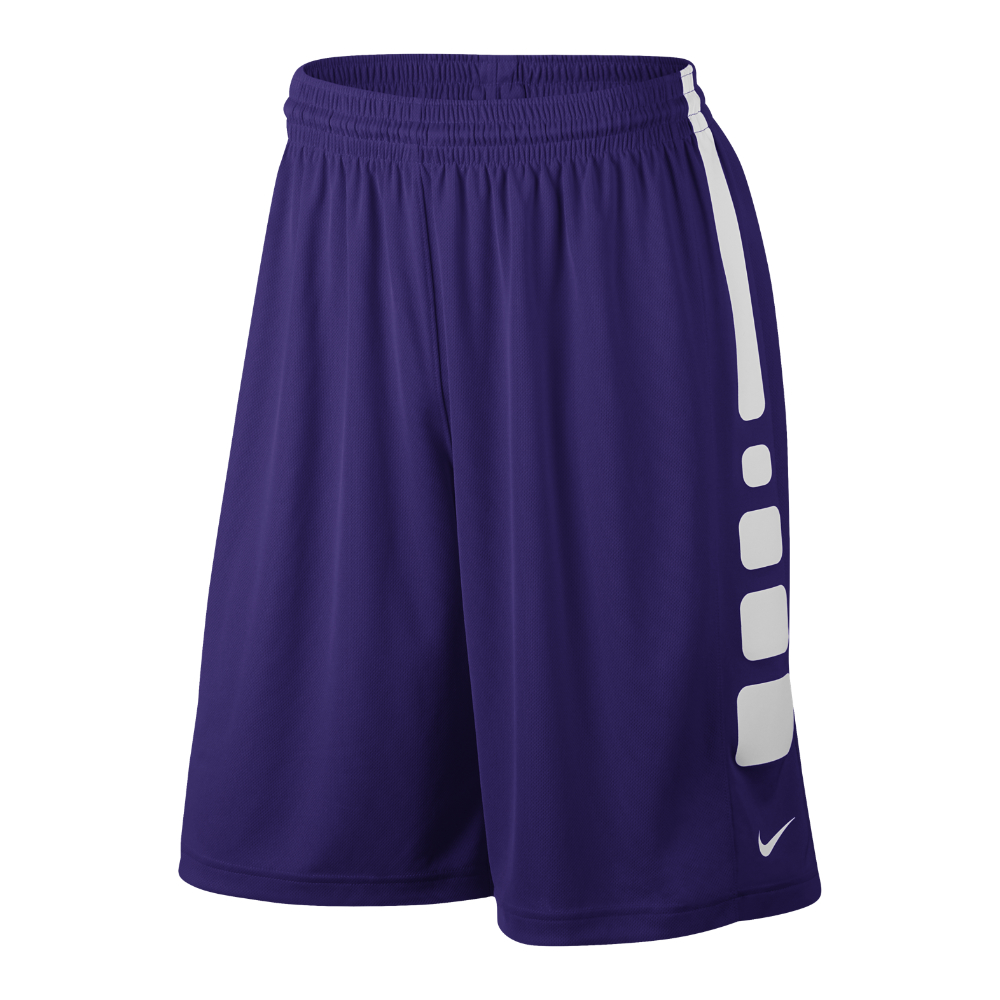 "Nike Practice Elite Men's 11"" Basketball Shorts in Purple ..."