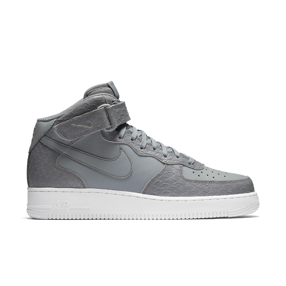 Lyst - Nike Air Force 1 07 Mid Lv8 Men s Shoe in Gray for Men 372abe3c1
