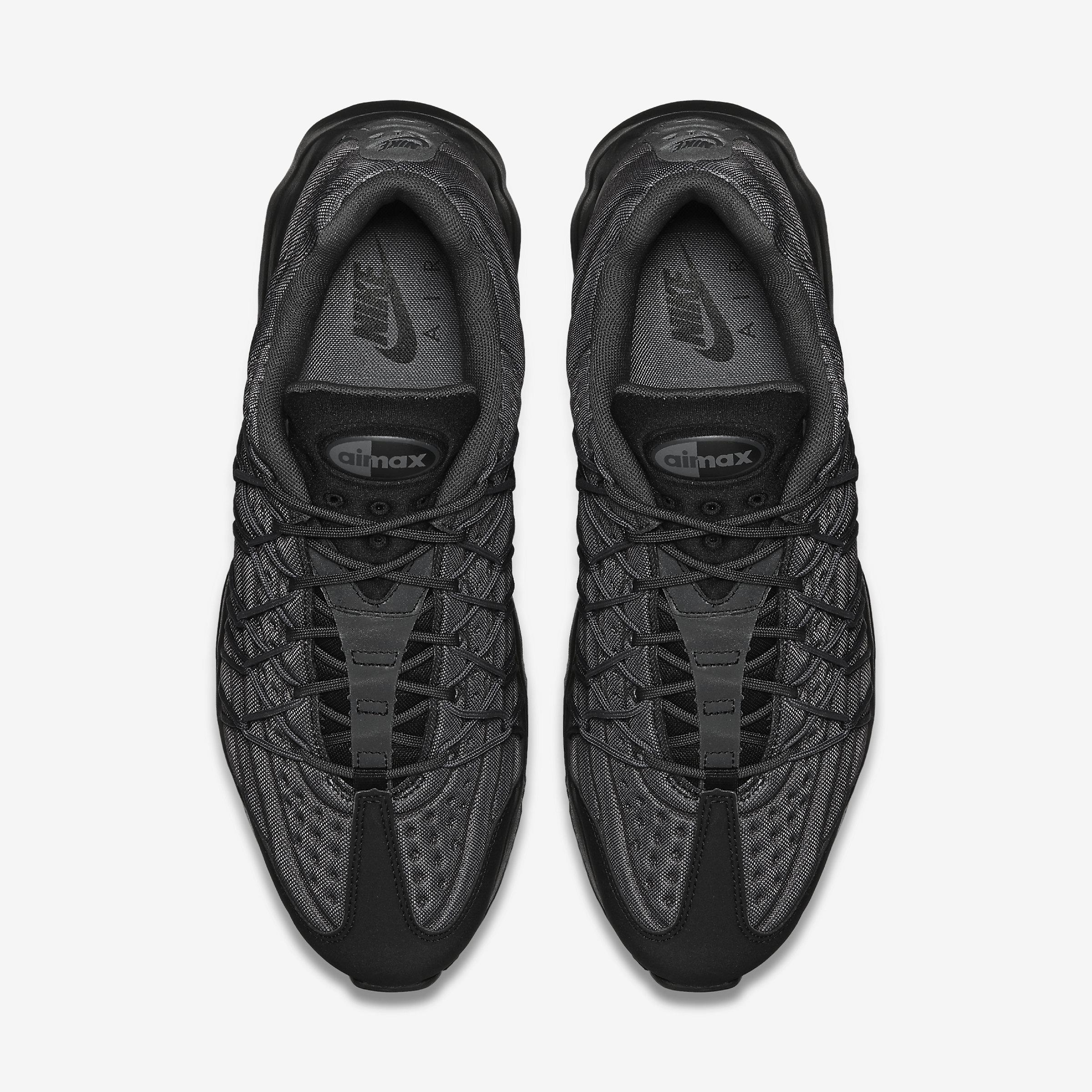 Nike Rubber Air Max 95 Ultra Se in Black,Black,Anthracite,Dark Grey (Black) for Men