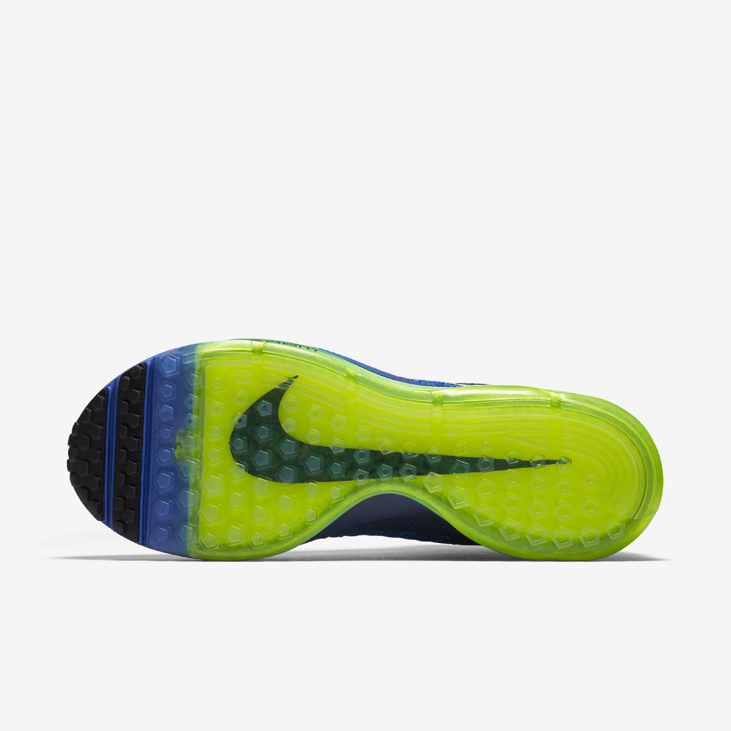 Nike Rubber Air Zoom All Out Flyknit in Blue for Men
