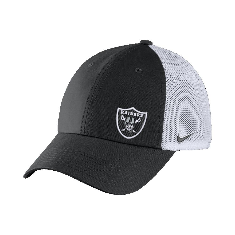 c850425e Nike H86 (nfl Raiders) Trucker Hat (black) for men