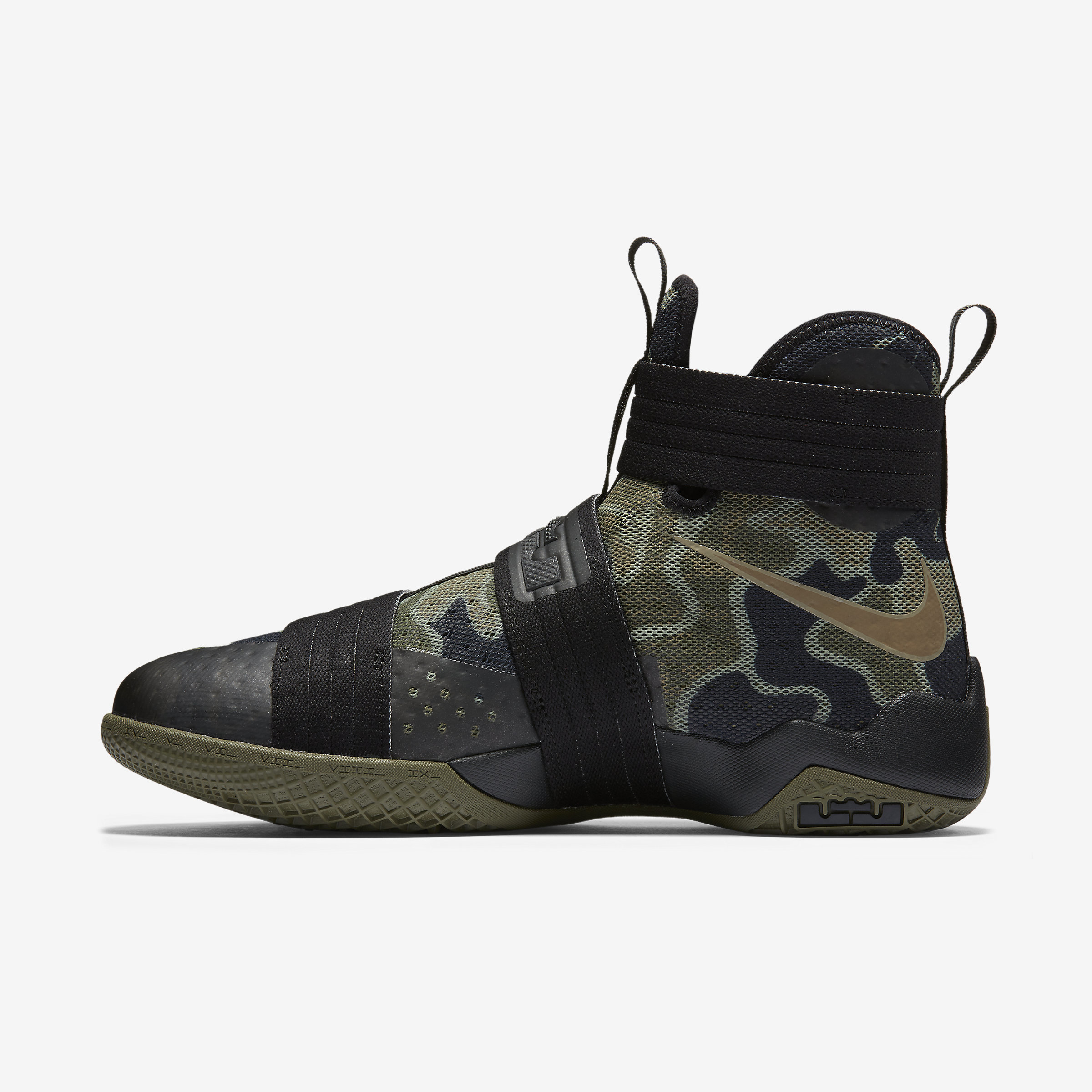 Nike Lace Zoom Lebron Soldier 10 Sfg in Black for Men