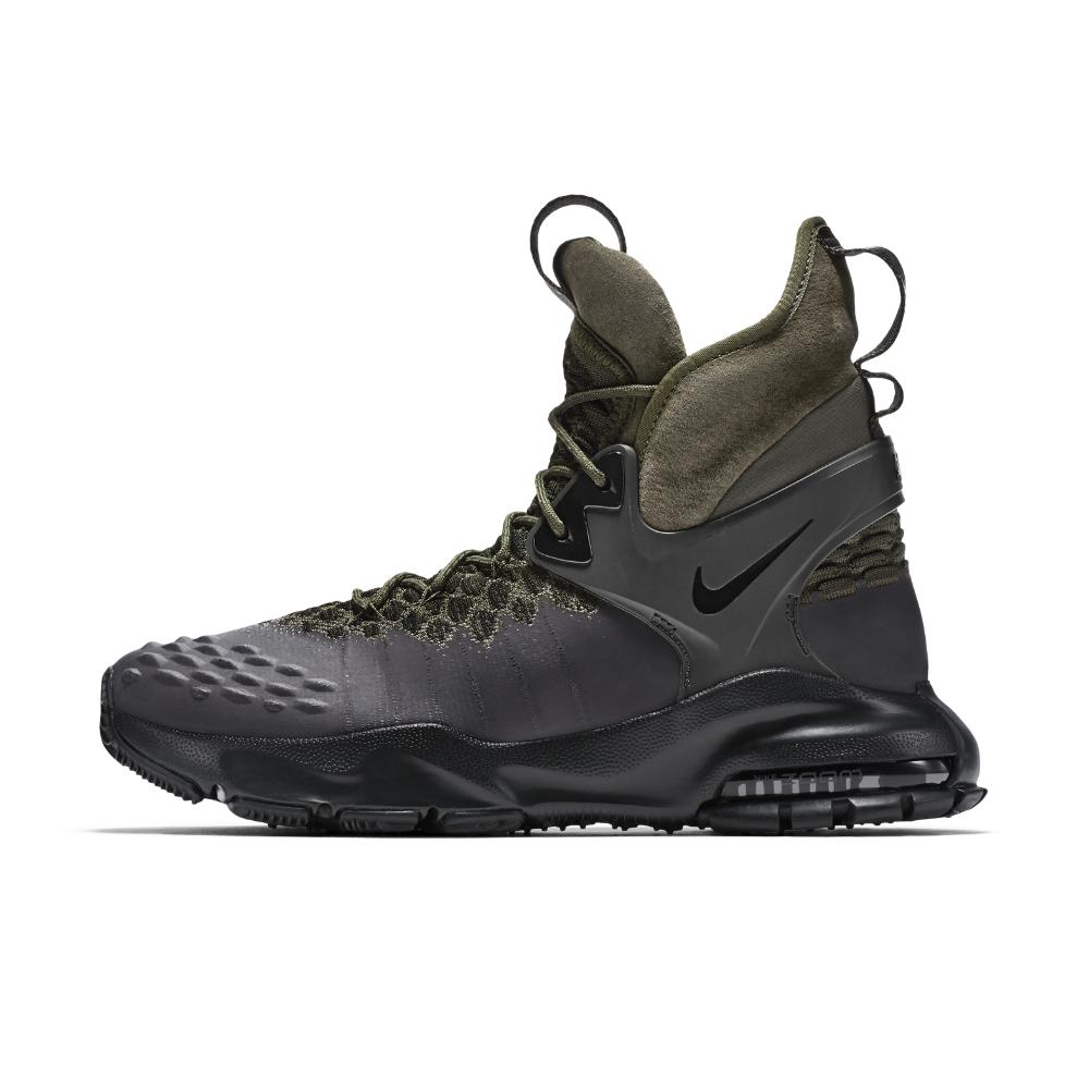 excepción Criticar Supone  Nike Rubber Lab Acg Air Zoom Tallac Flyknit Men's Boot in Black/Black/Cargo  Khaki/Black (Black) for Men - Lyst