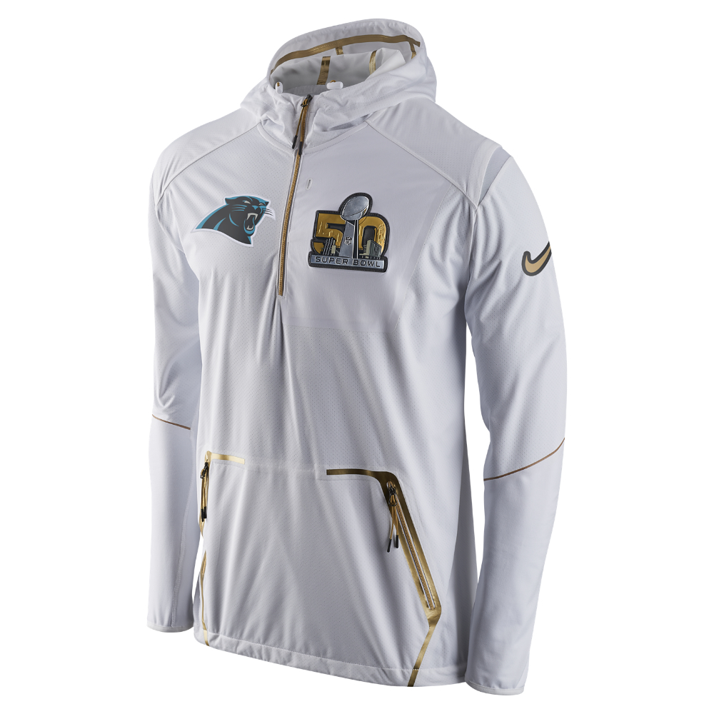 c936a7528df8 Lyst - Nike Sb50 Fly Rush Alpha (nfl Panthers) Men s Jacket in White ...