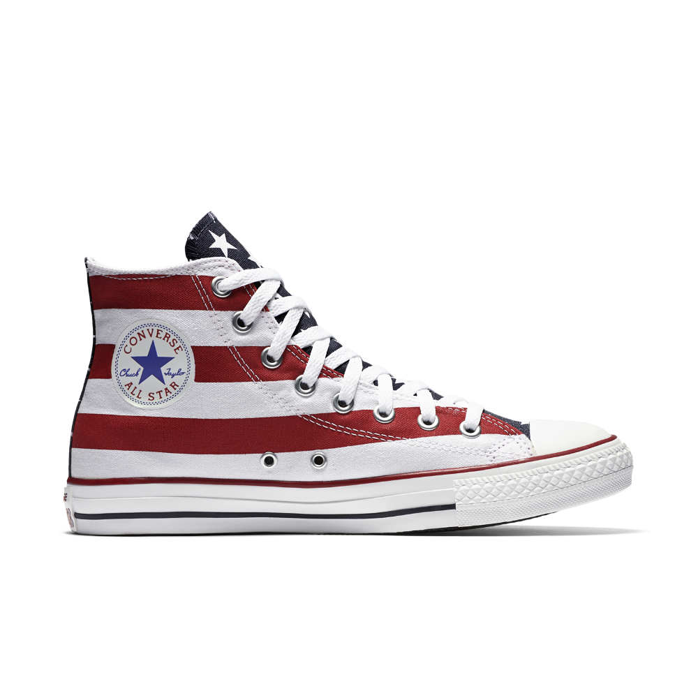 Converse Canvas Chuck Taylor All Star Americana High Top Shoe for ...