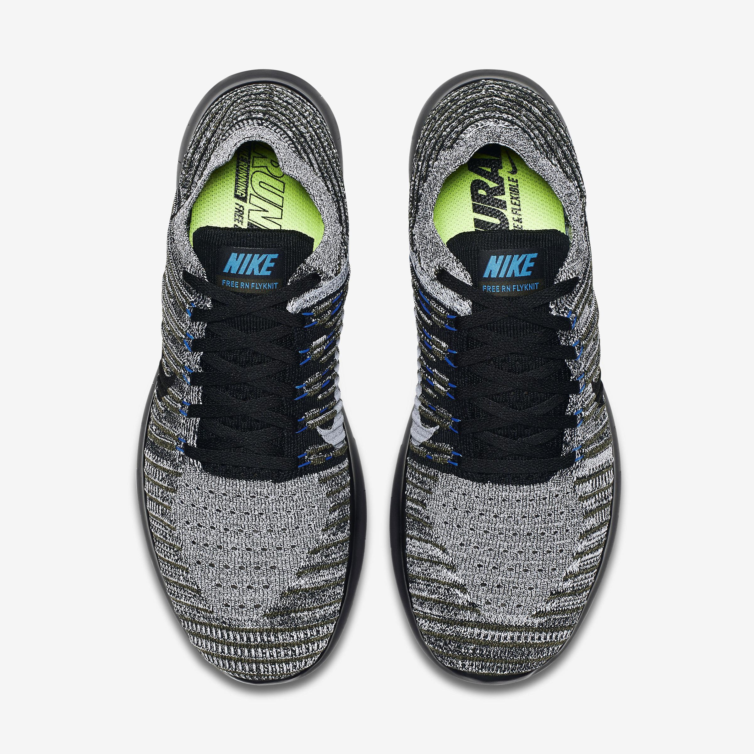 9d8f1bc115f0 Nike Free Rn Flyknit Men s Running Shoe in Blue for Men - Lyst