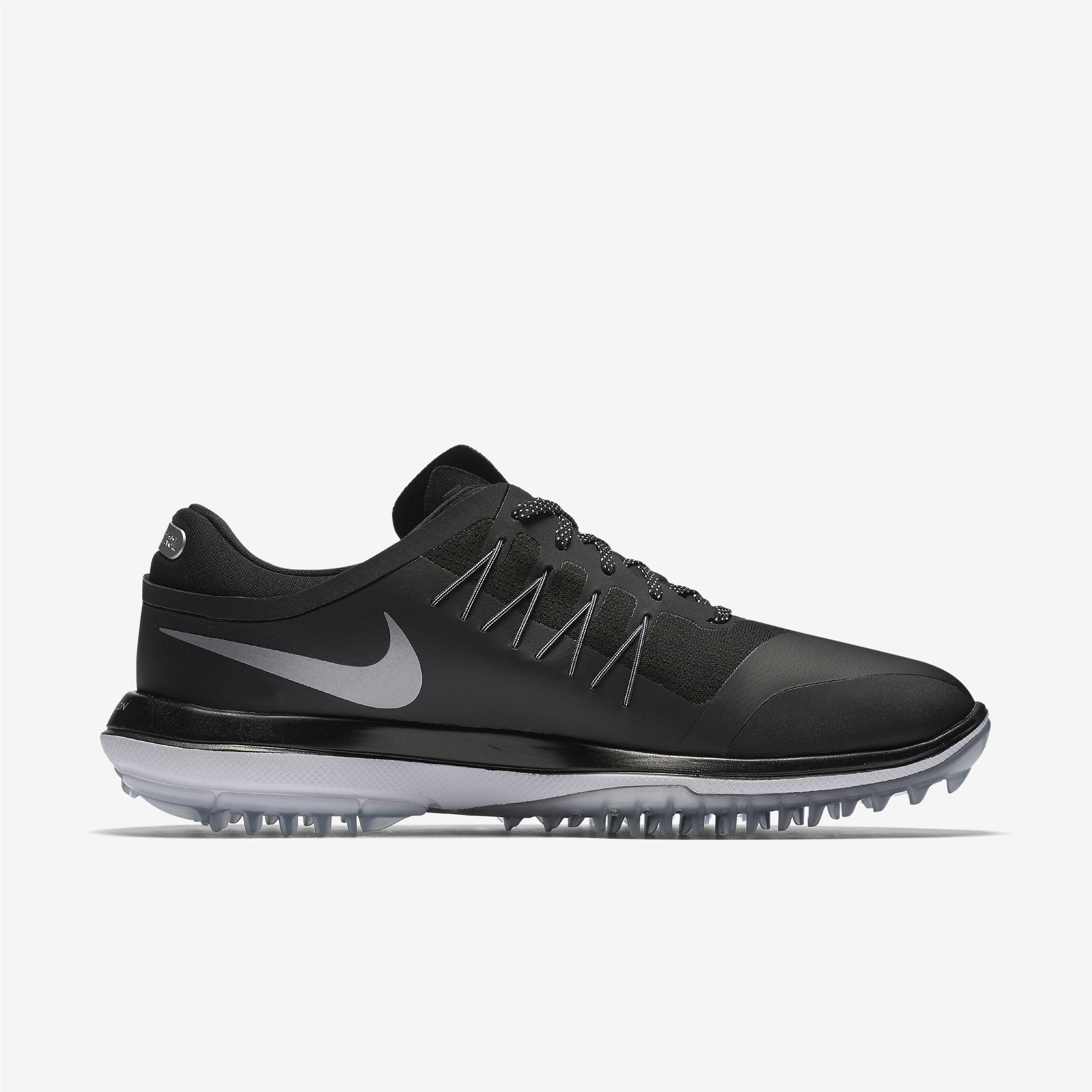 Nike Synthetic Lunar Control Vapor in Black,White,Metallic Silver (Black) for Men
