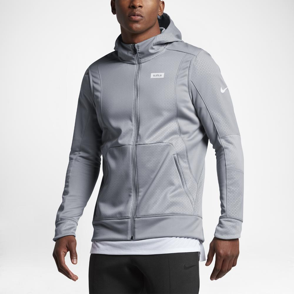 0f4b9d2eb134 Lyst - Nike Therma Lebron Men s Hoodie in Gray for Men
