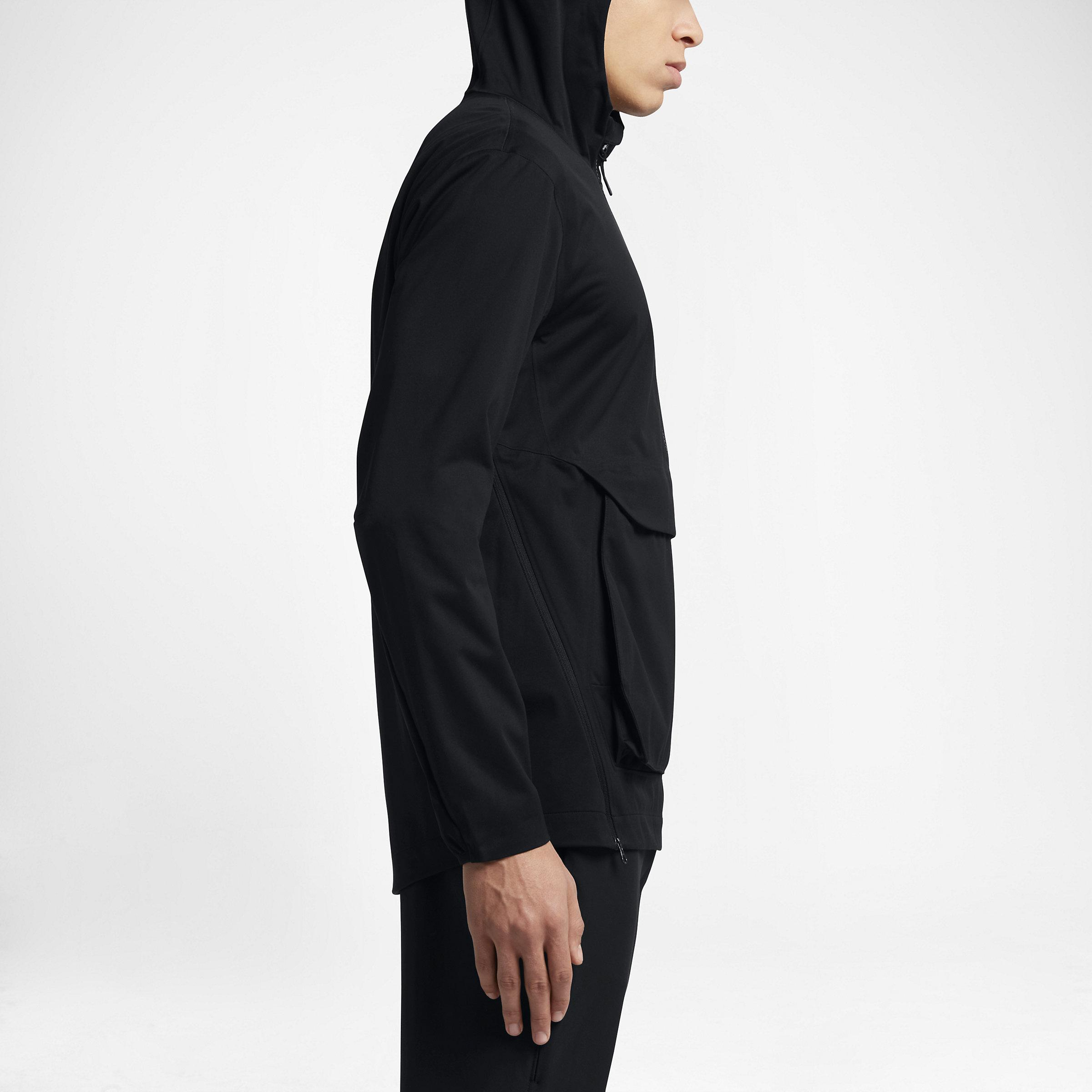 Nike Synthetic Lab Essentials Training Anorak in Black for Men