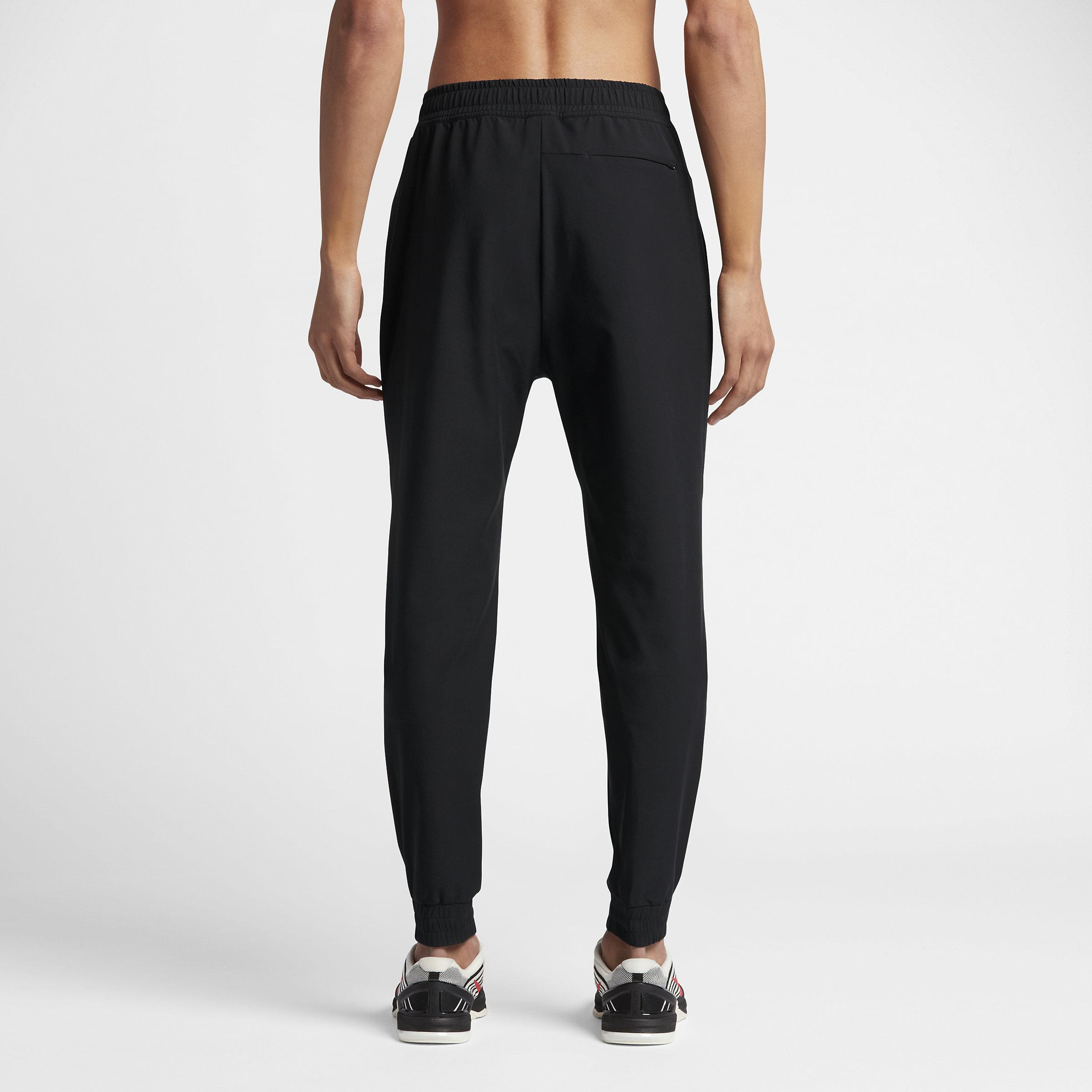 Nike Synthetic Lab Essentials Tech Training Trousers in Black for Men