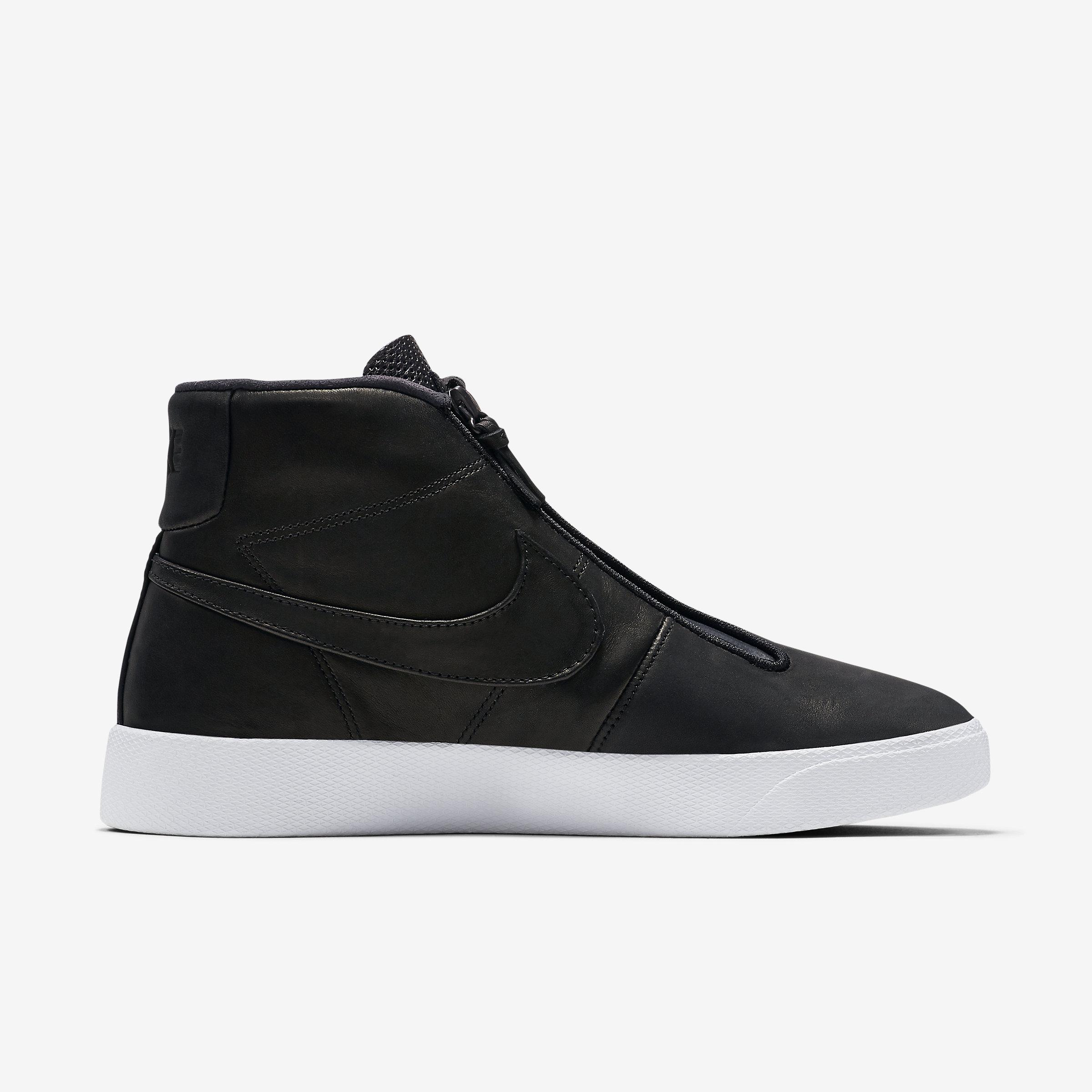 Nike Suede Blazer Advanced in Black,Black,White,Black (Black) for Men