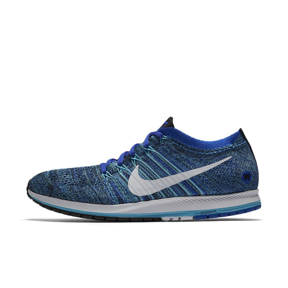 nike zoom flyknit streak tokyo racing shoe in blue for. Black Bedroom Furniture Sets. Home Design Ideas