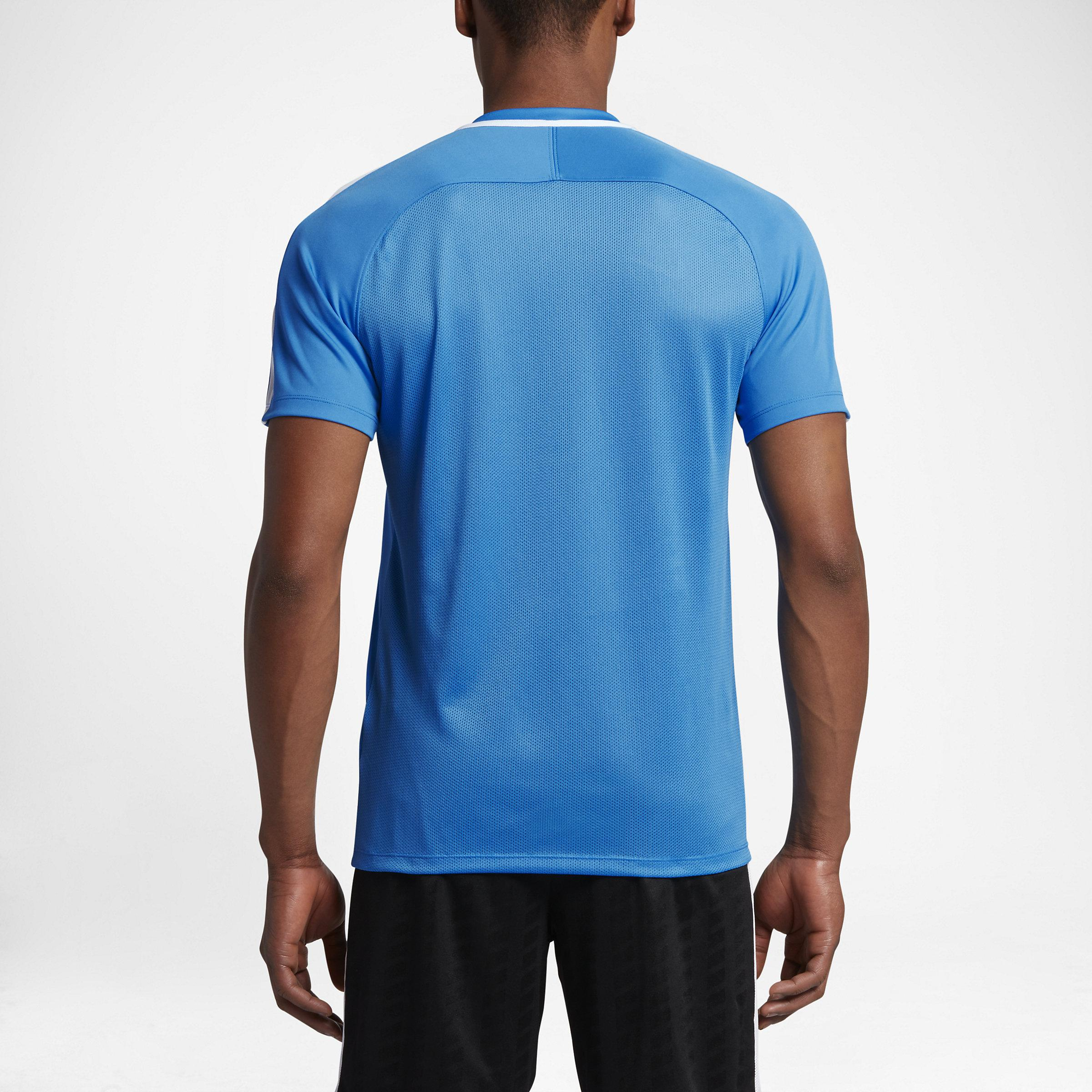 Nike Synthetic Dry Squad Men's Soccer Top in Blue for Men