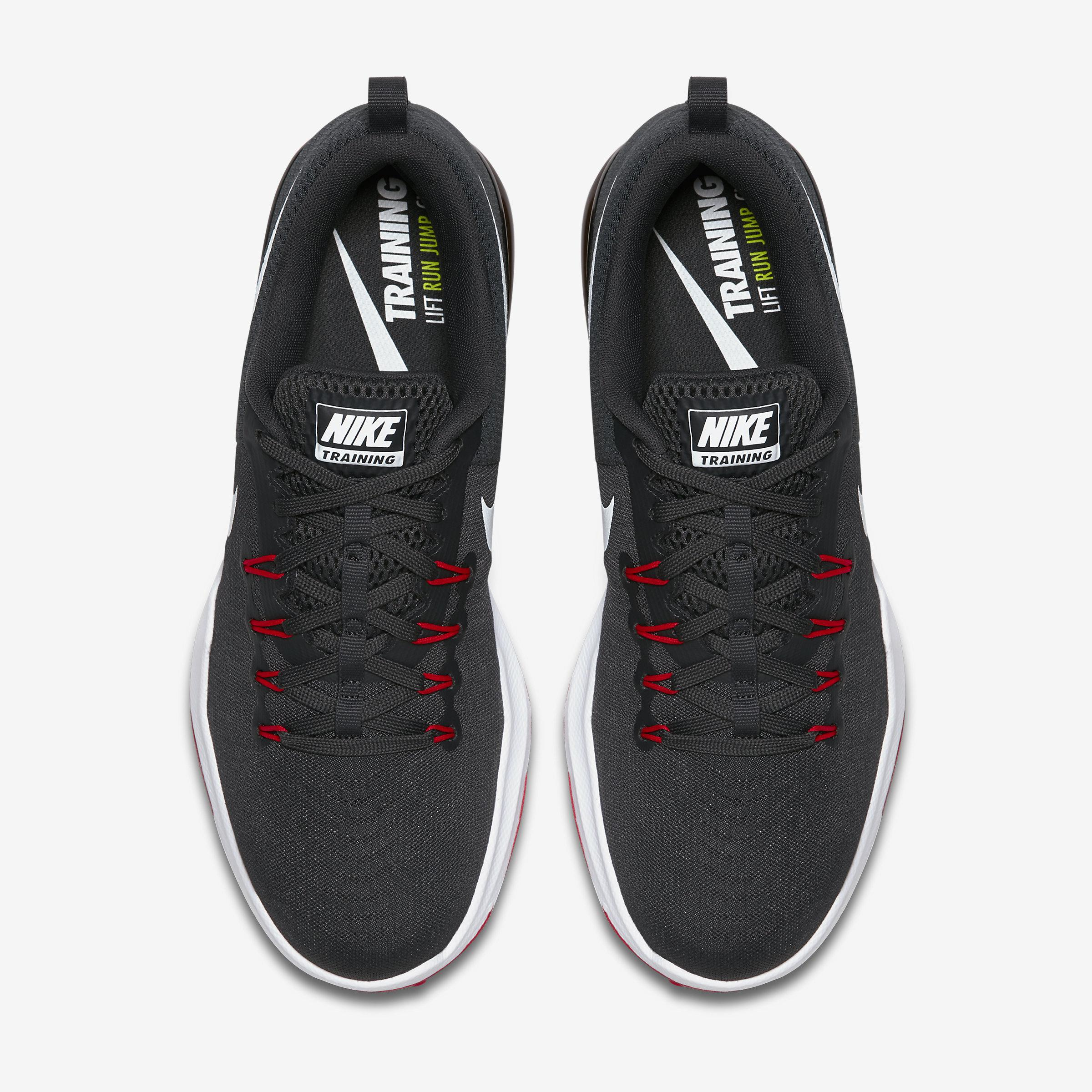 Nike Rubber Zoom Train Action in Anthracite,University Red,Black, (Black) for Men